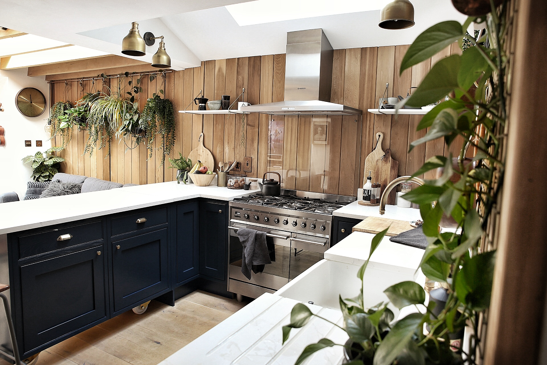 A Cozy London House Will Make You Love Wood-Paneled Walls