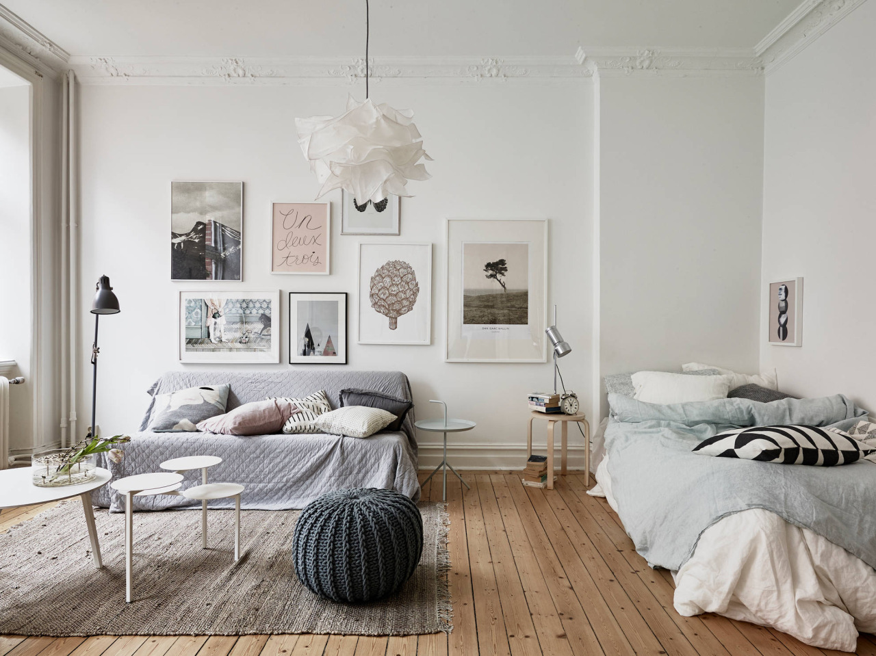 Picture of: How To Create A Separate Bedroom In A Studio Apartment Apartment Therapy