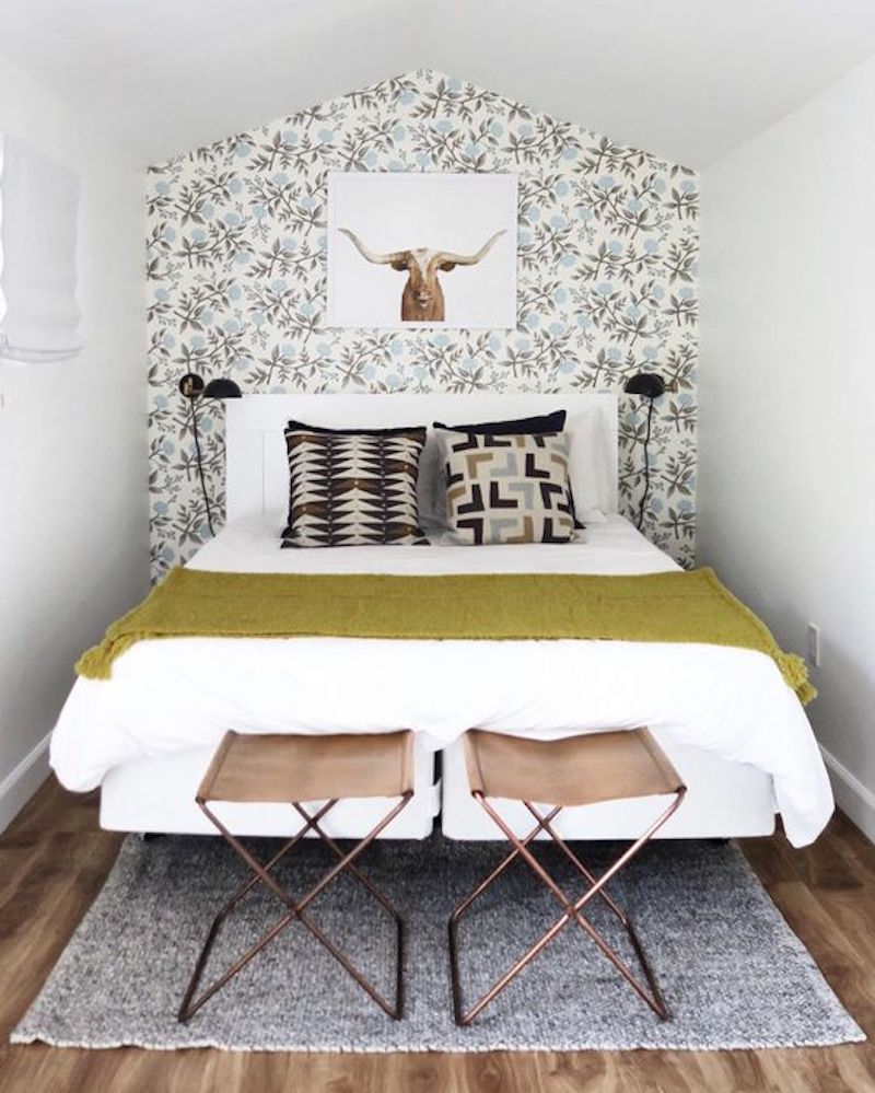 Smart Decorating Ideas For Small Bedrooms Apartment Therapy