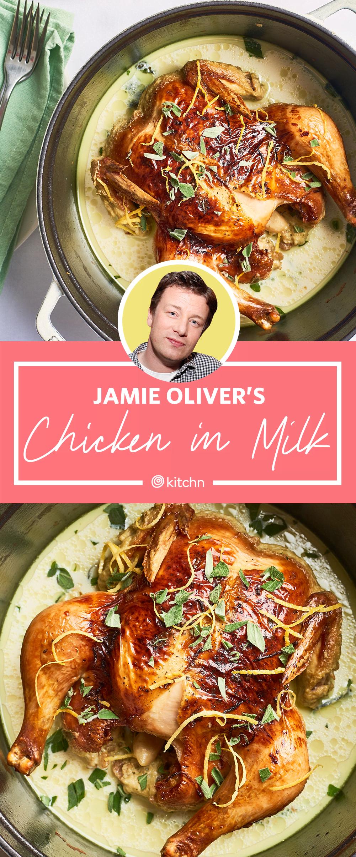 Jamie Oliver S Chicken In Milk Recipe Kitchn