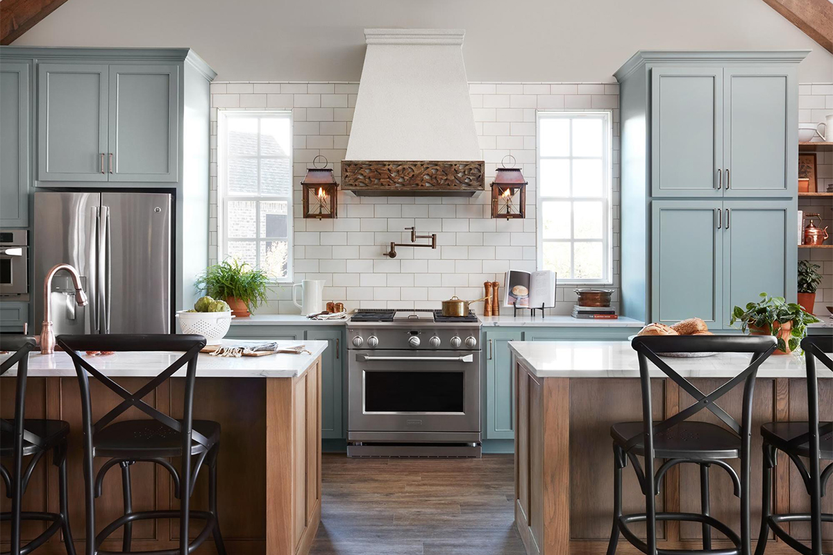 Best Fixer Upper Kitchen Designs From Joanna Gaines  Apartment