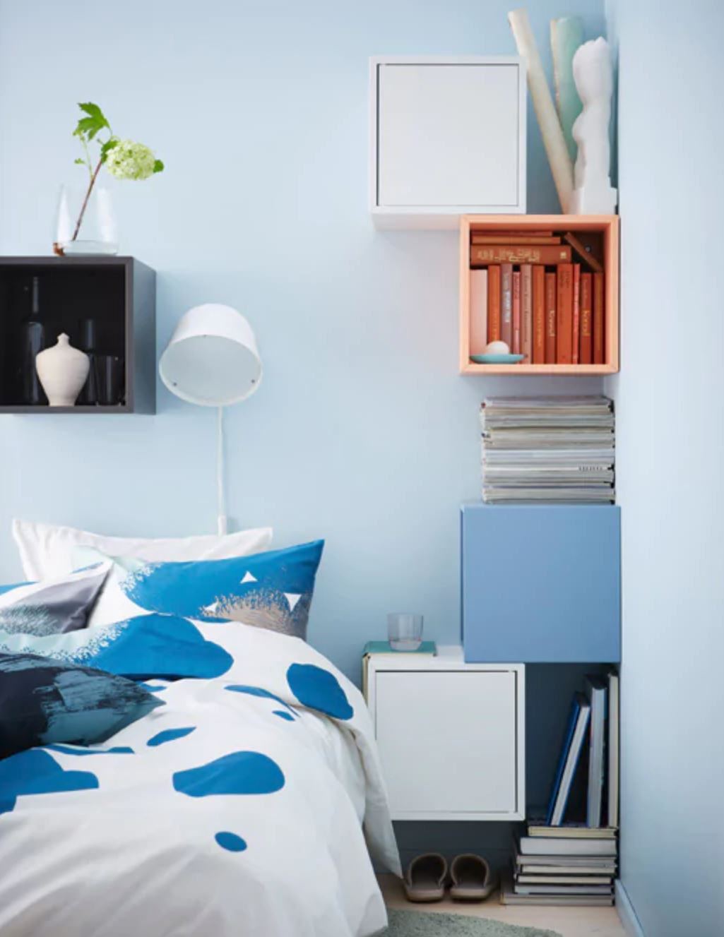 7 Bright Bedroom Ideas To Steal From Ikea