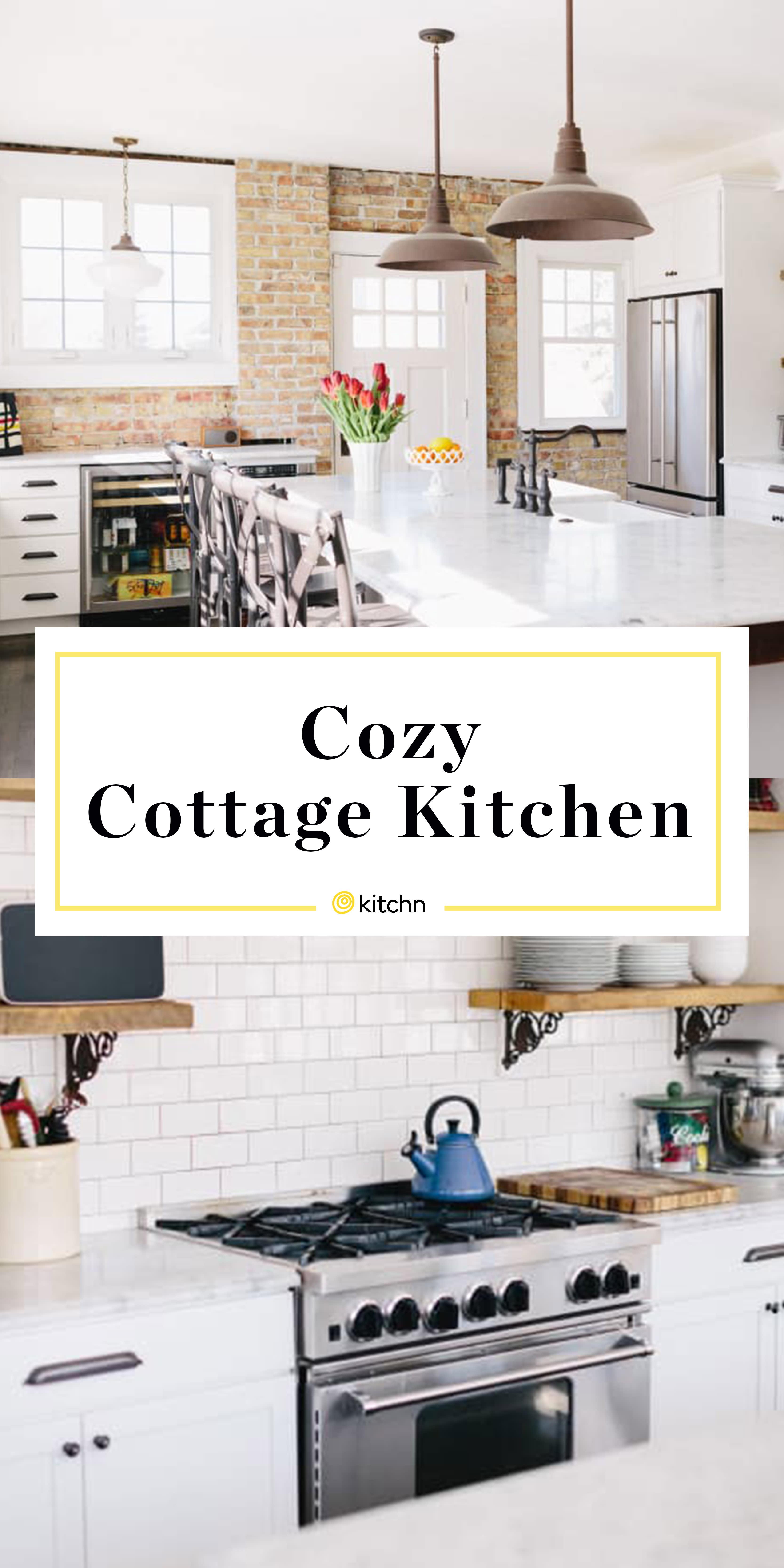Cozy Cottage Kitchen Decorating Ideas   Kitchn