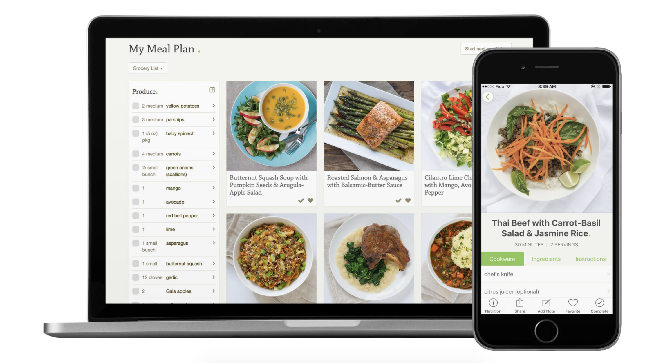 Best Meal Planning Apps Mealime Anylist Kitchn