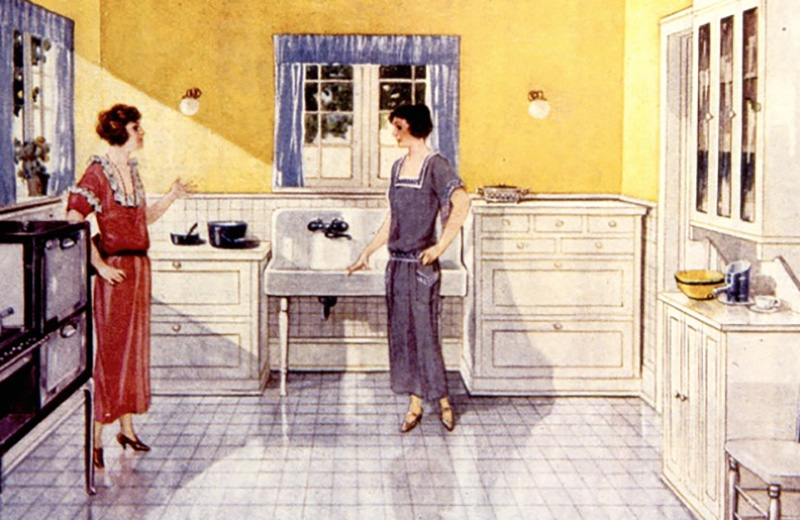 A Brief History Of Kitchen Design From 1900 To 1920 Apartment Therapy