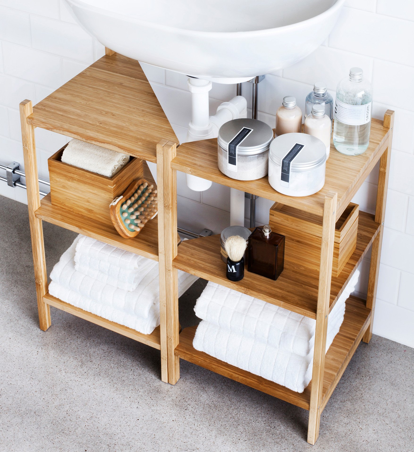 A Dozen Genius Ways To Organize Under The Sink Apartment Therapy