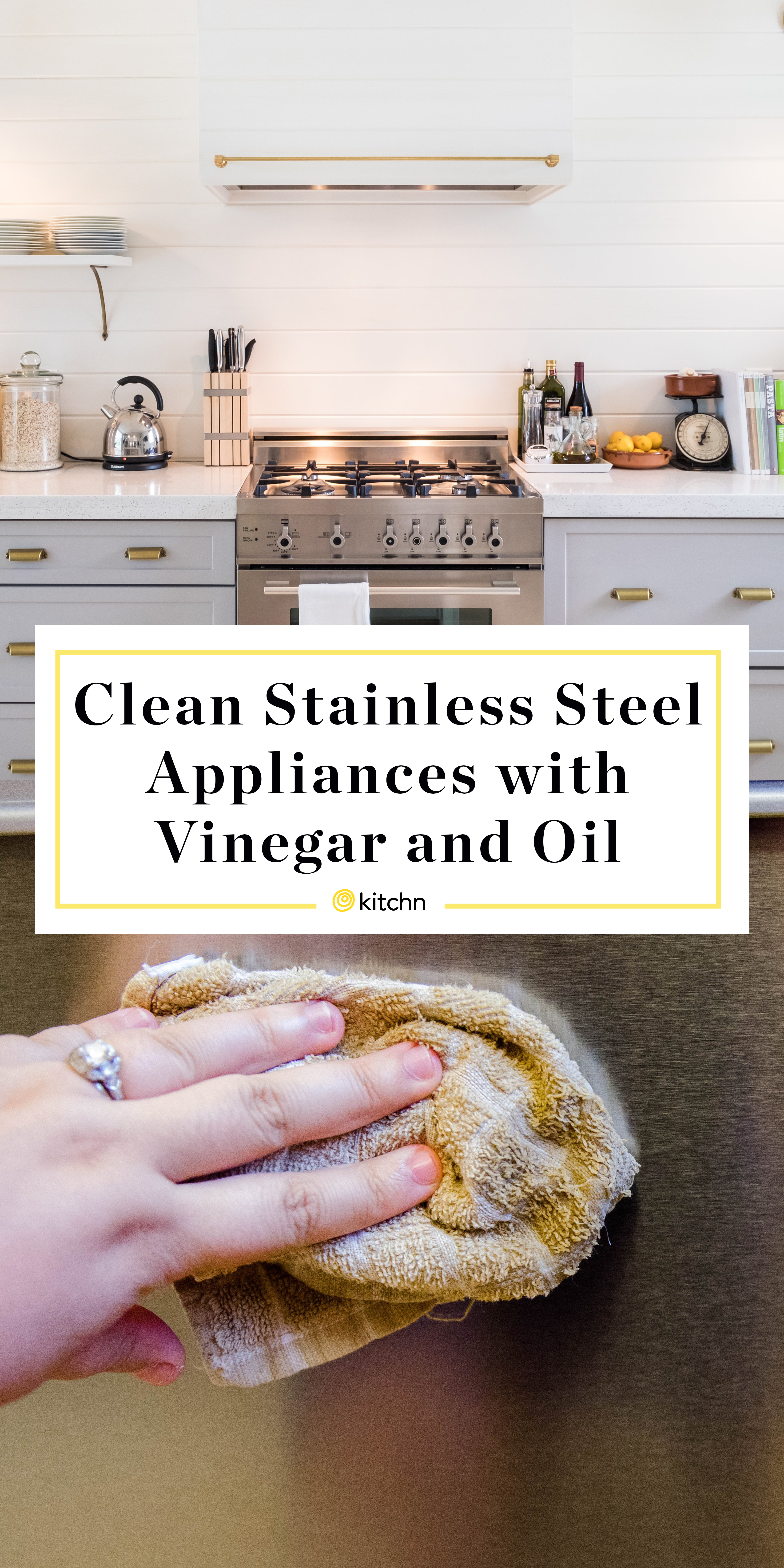 How To Clean Stainless Steel Appliances Kitchn
