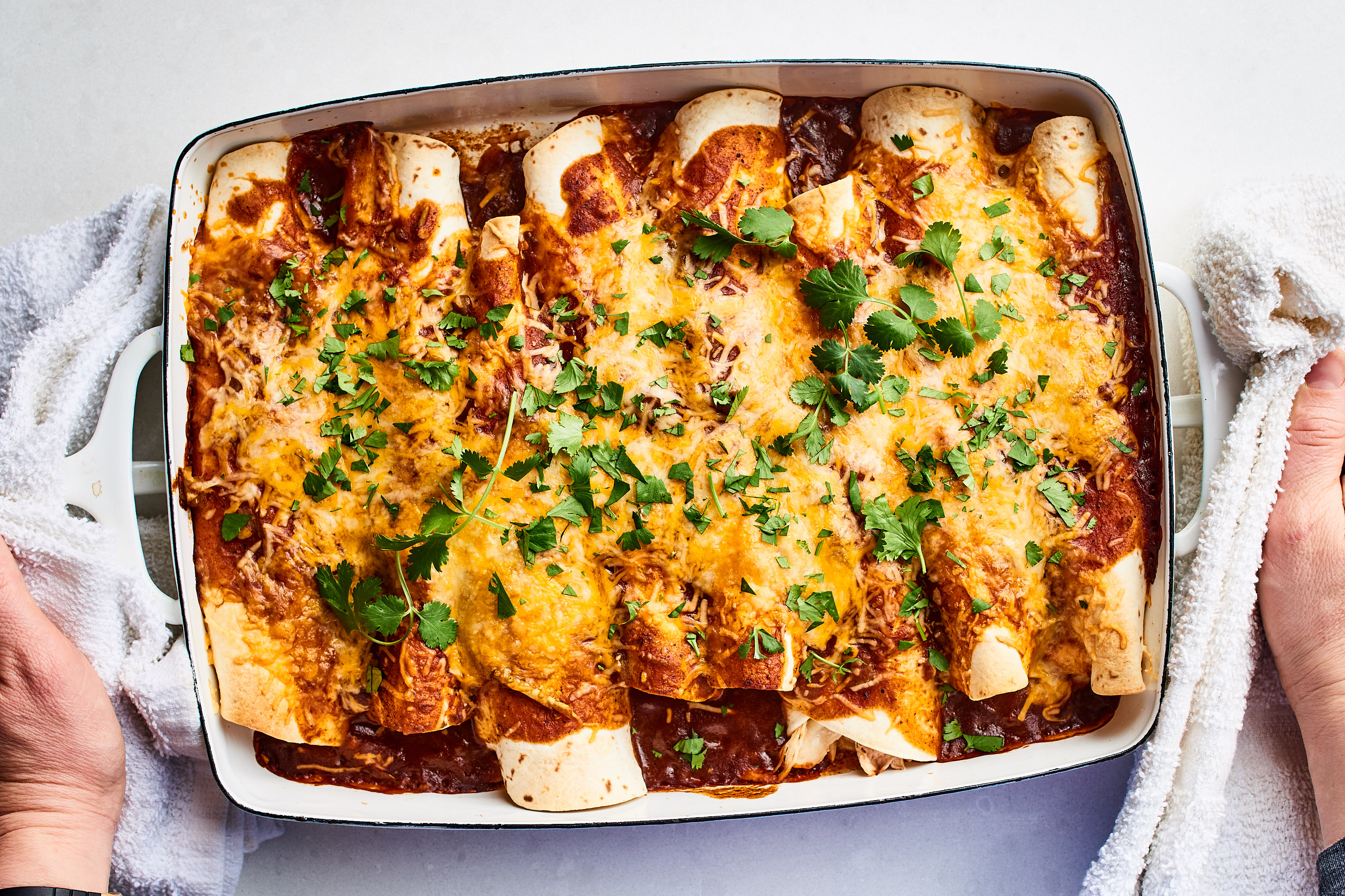 Easy Chicken Enchiladas Kitchn