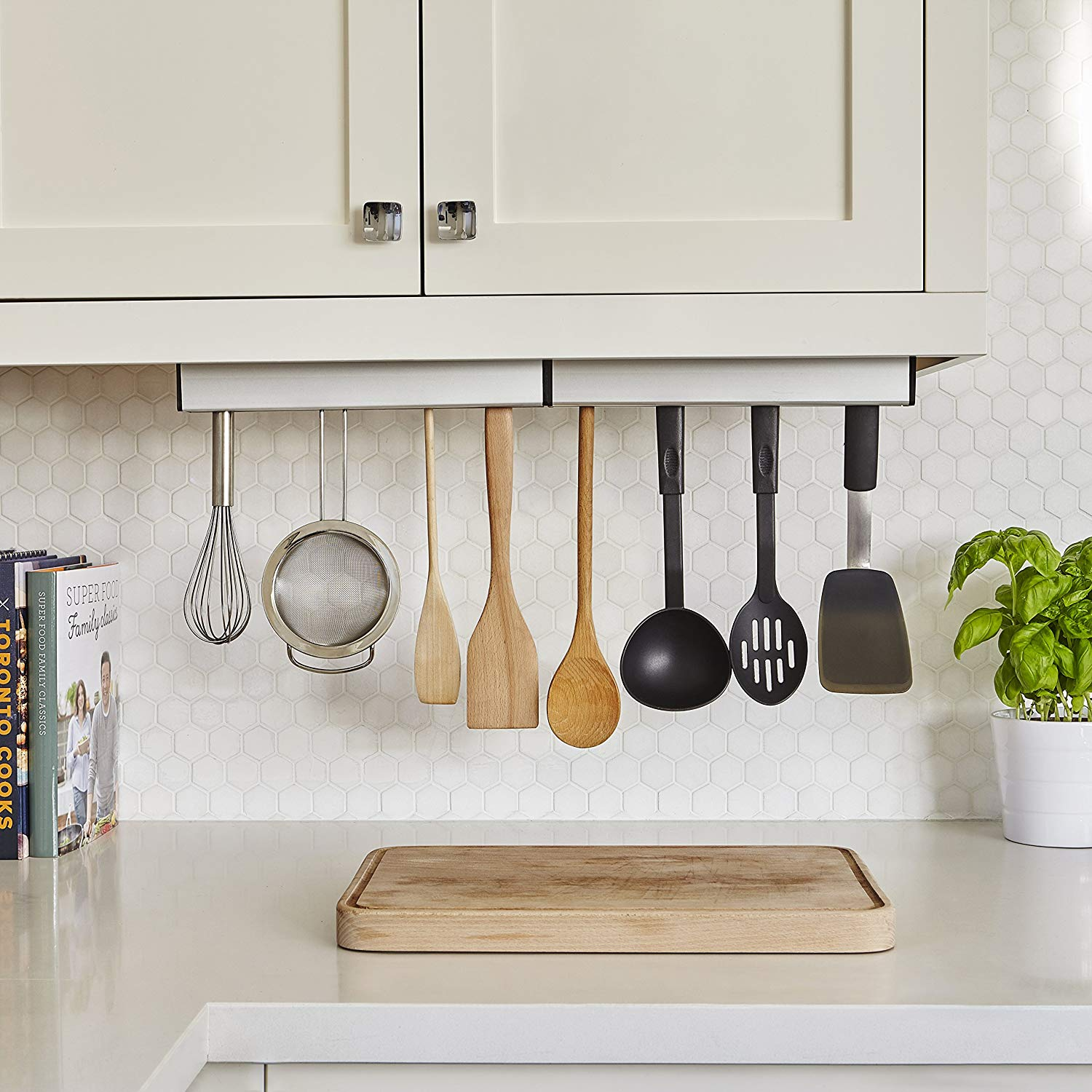 Umbra Float Kitchen Organizer Review | Apartment Therapy