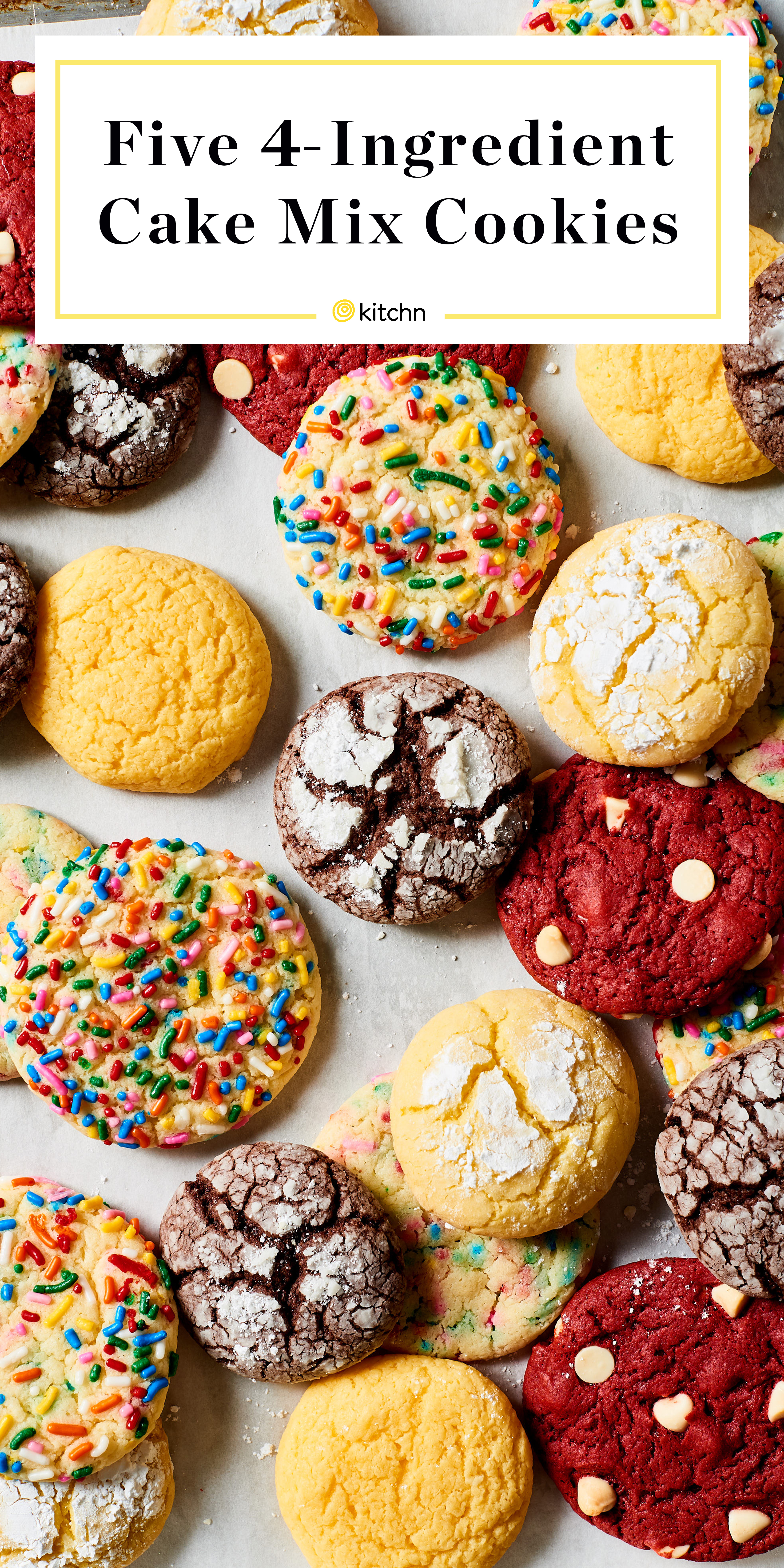 Easy Cake Mix Cookies Kitchn