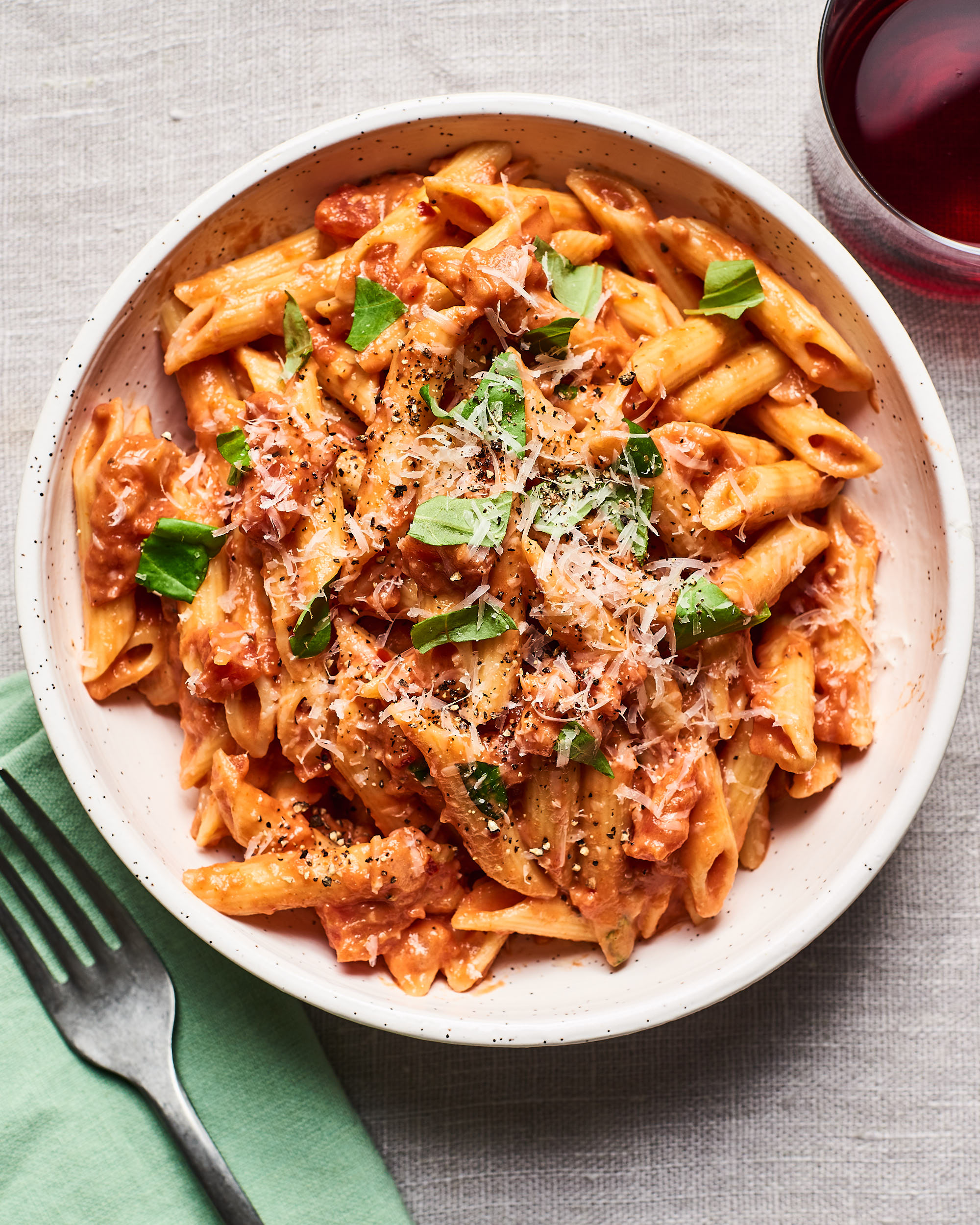 Creamy Tomato Pasta Kitchn