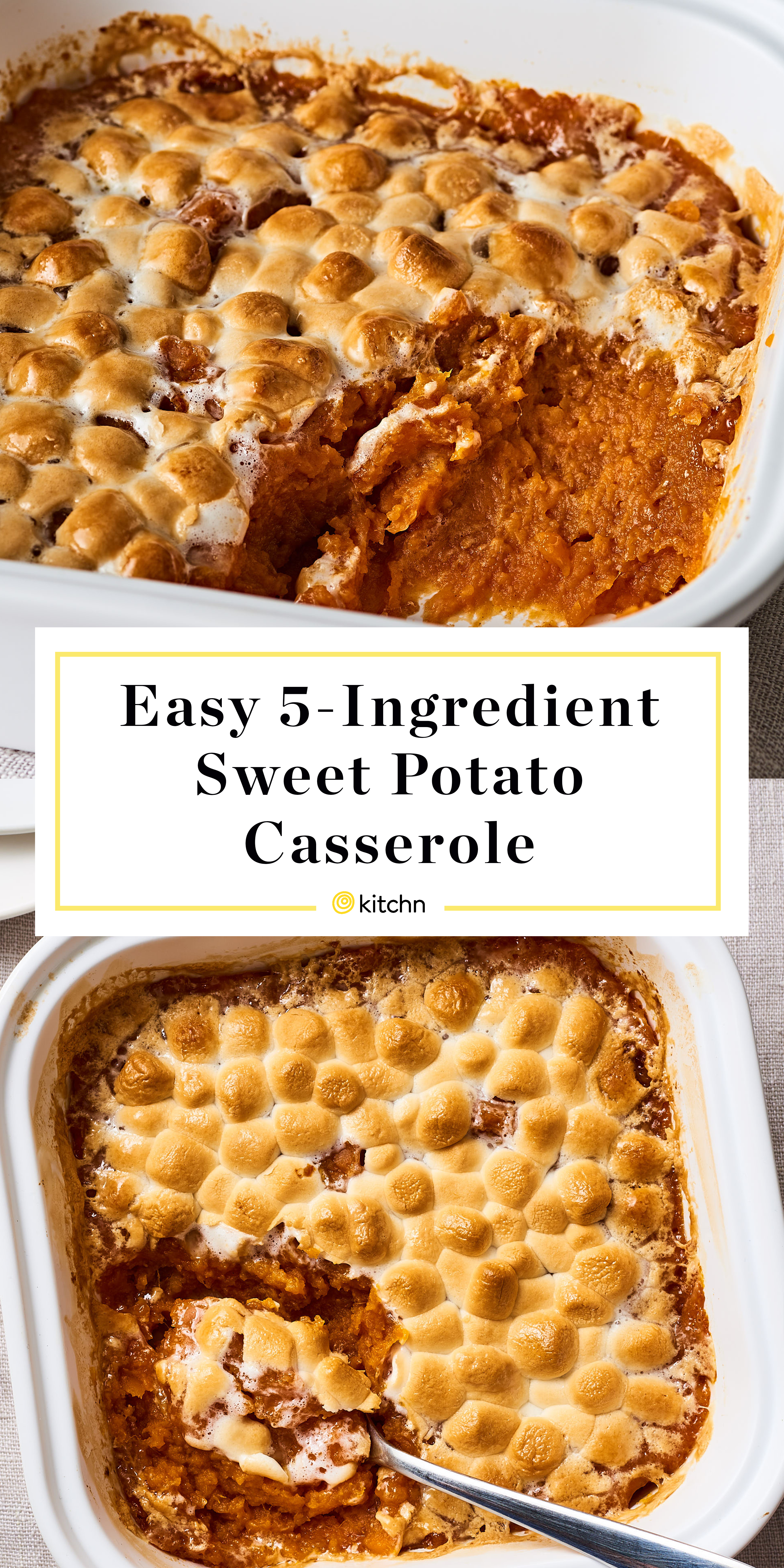 Easy Sweet Potato Casserole Recipe Kitchn