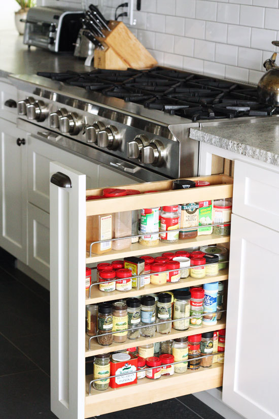 Clever Kitchen Storage Ideas That Utilize Awkward Empty Spots Apartment Therapy