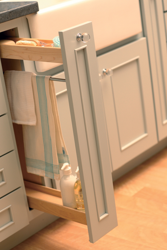 Clever Kitchen Storage Ideas That Utilize Awkward Empty Spots