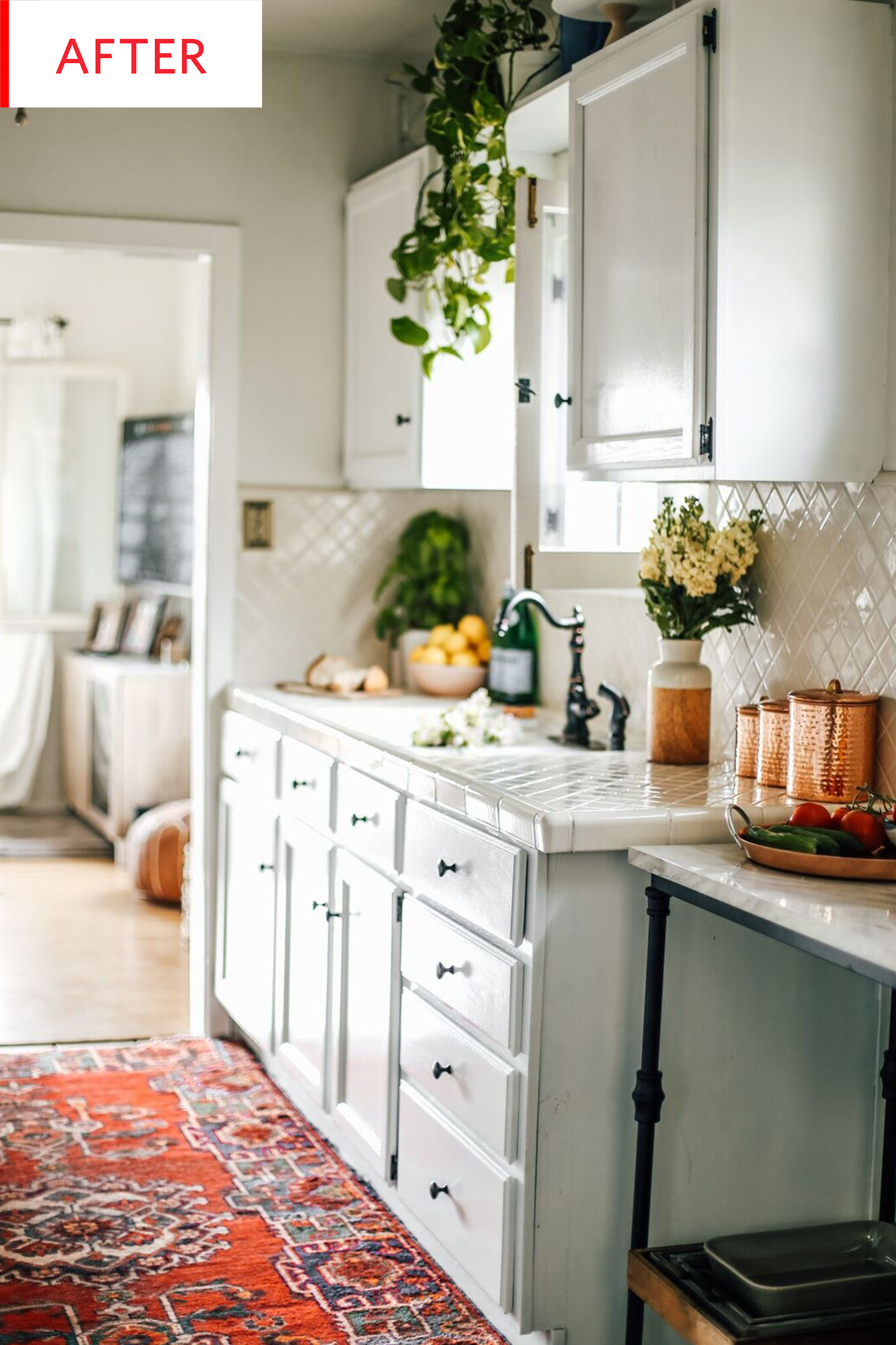 Kitchen Decor Ideas Rental Makeover Before After Apartment Therapy