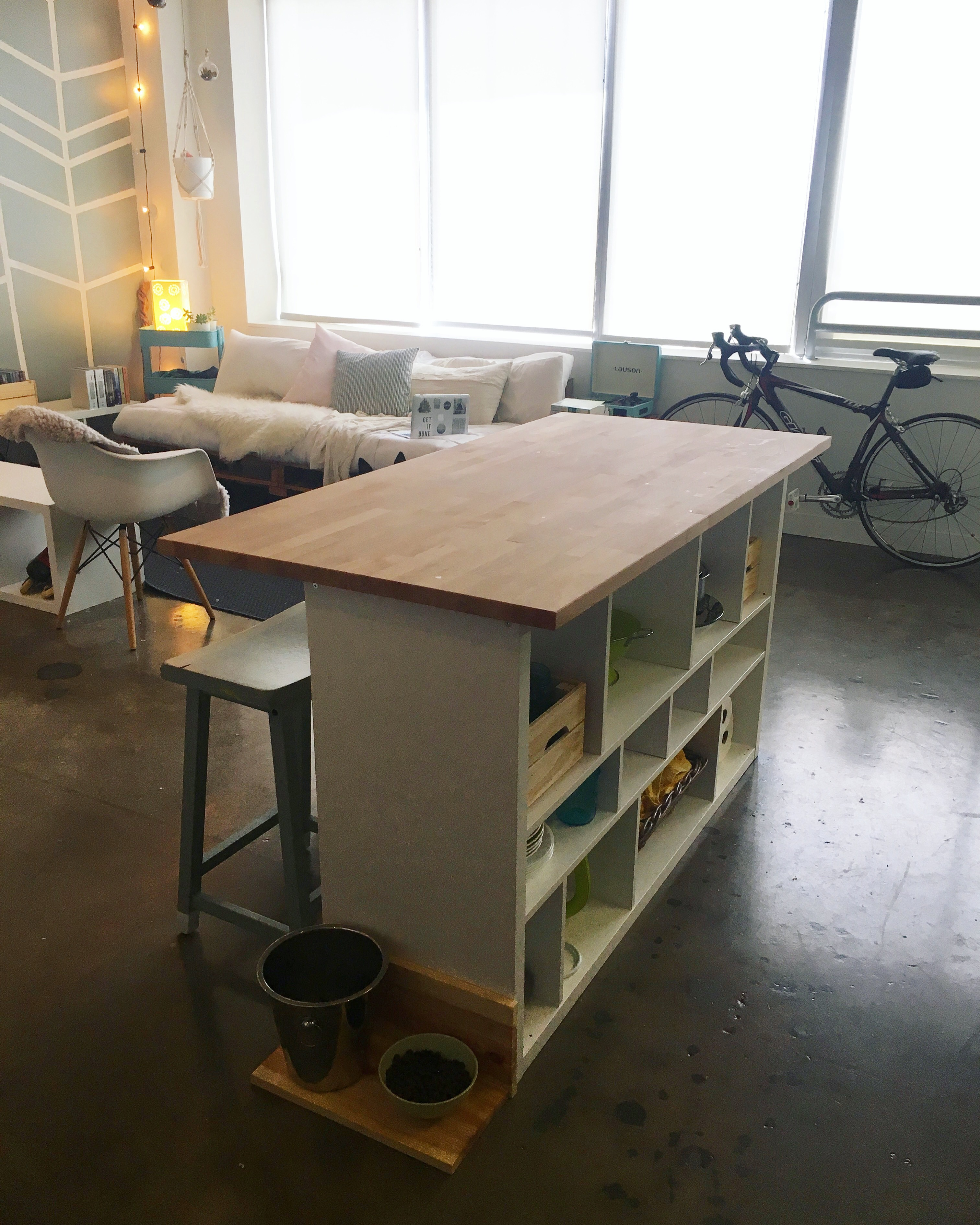 Ikea Hack Kitchen Island Diy For 200 Apartment Therapy
