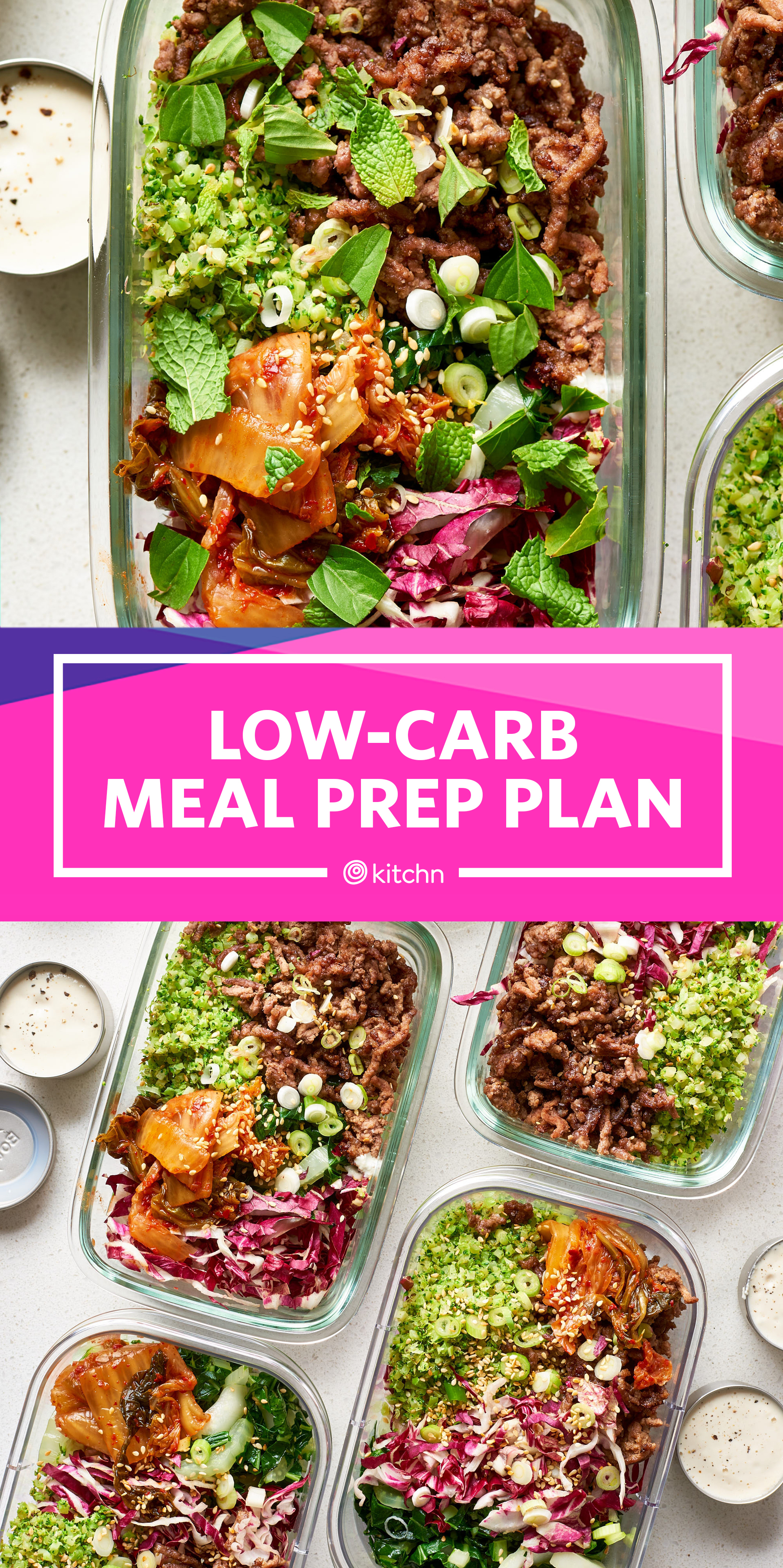 easy low carb diet meal prep