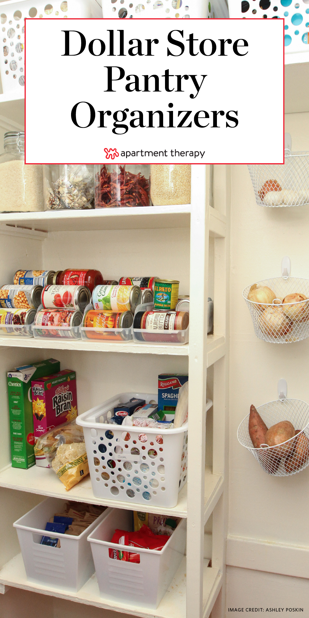 Dollar Store Pantry Organizer Tips Apartment Therapy