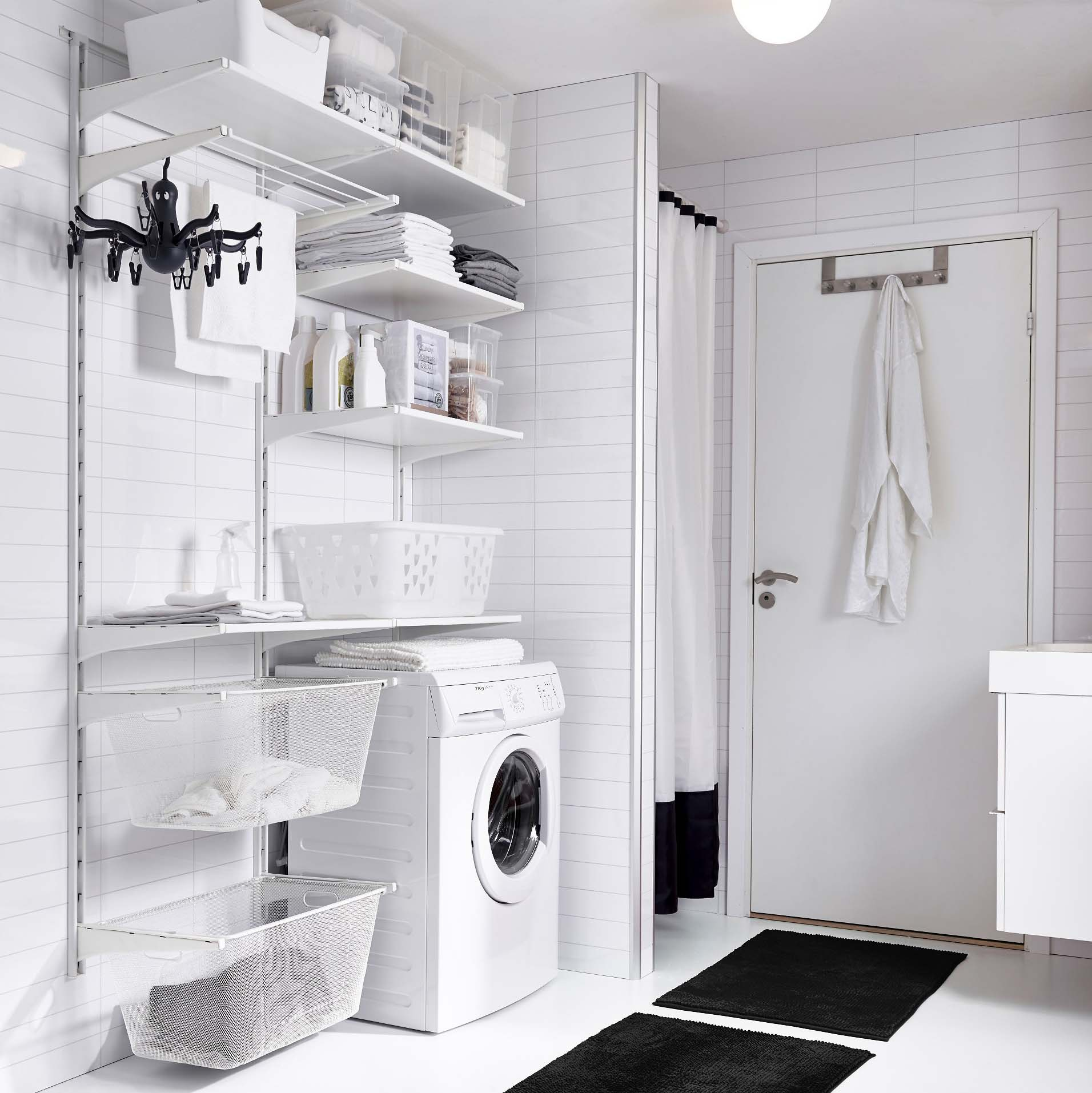 Organized Laundry Room Decor Ideas To Steal From Ikea Apartment Therapy