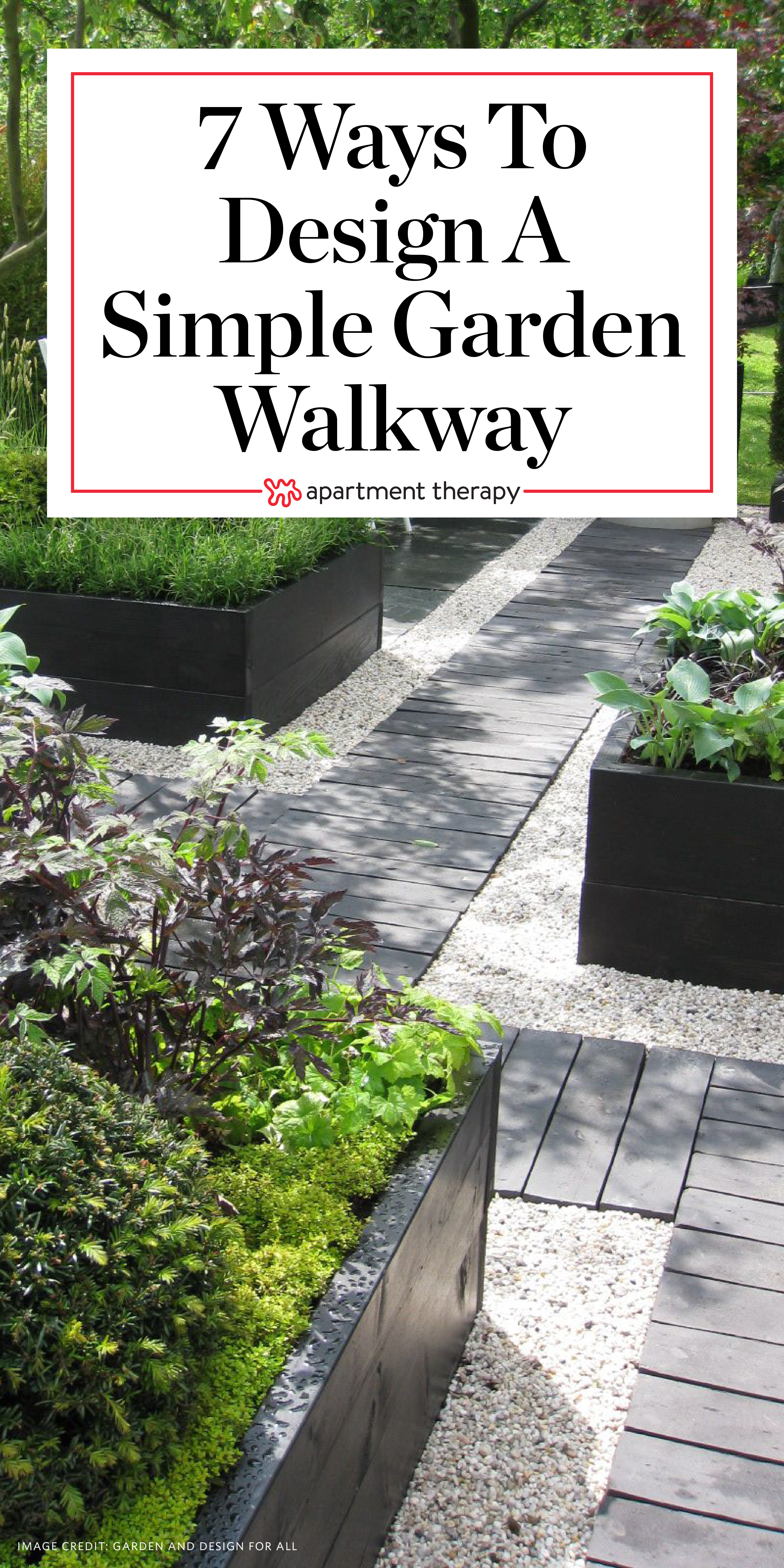 7 Different Ways To Design A Simple Garden Walkway Apartment Therapy