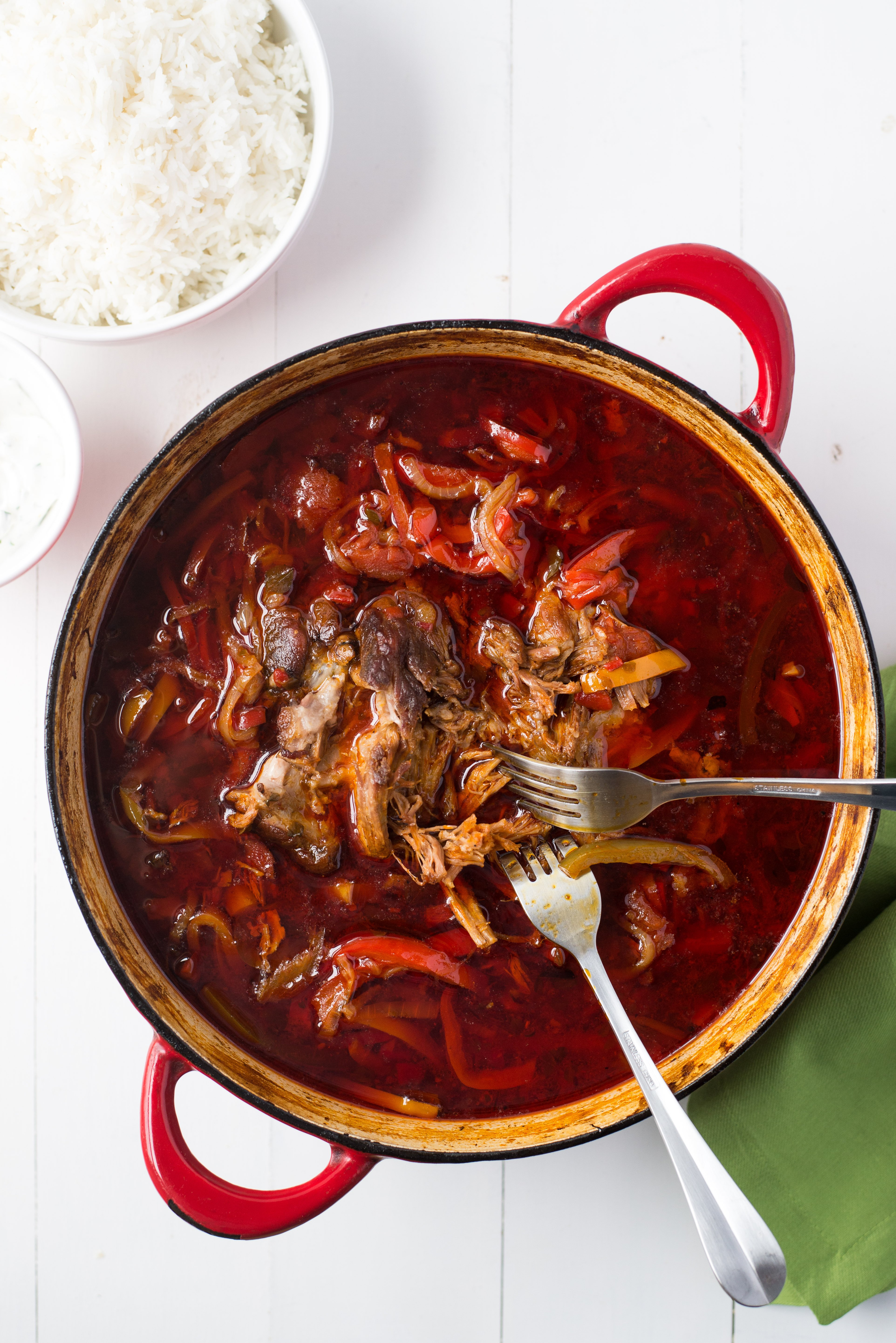 Recipe Jamie Oliver S Pork And Chile Pepper Goulash Kitchn