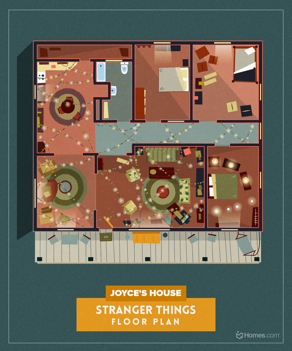 These Floor Plans Recreate Your Favorite Tv Homes Apartment Therapy
