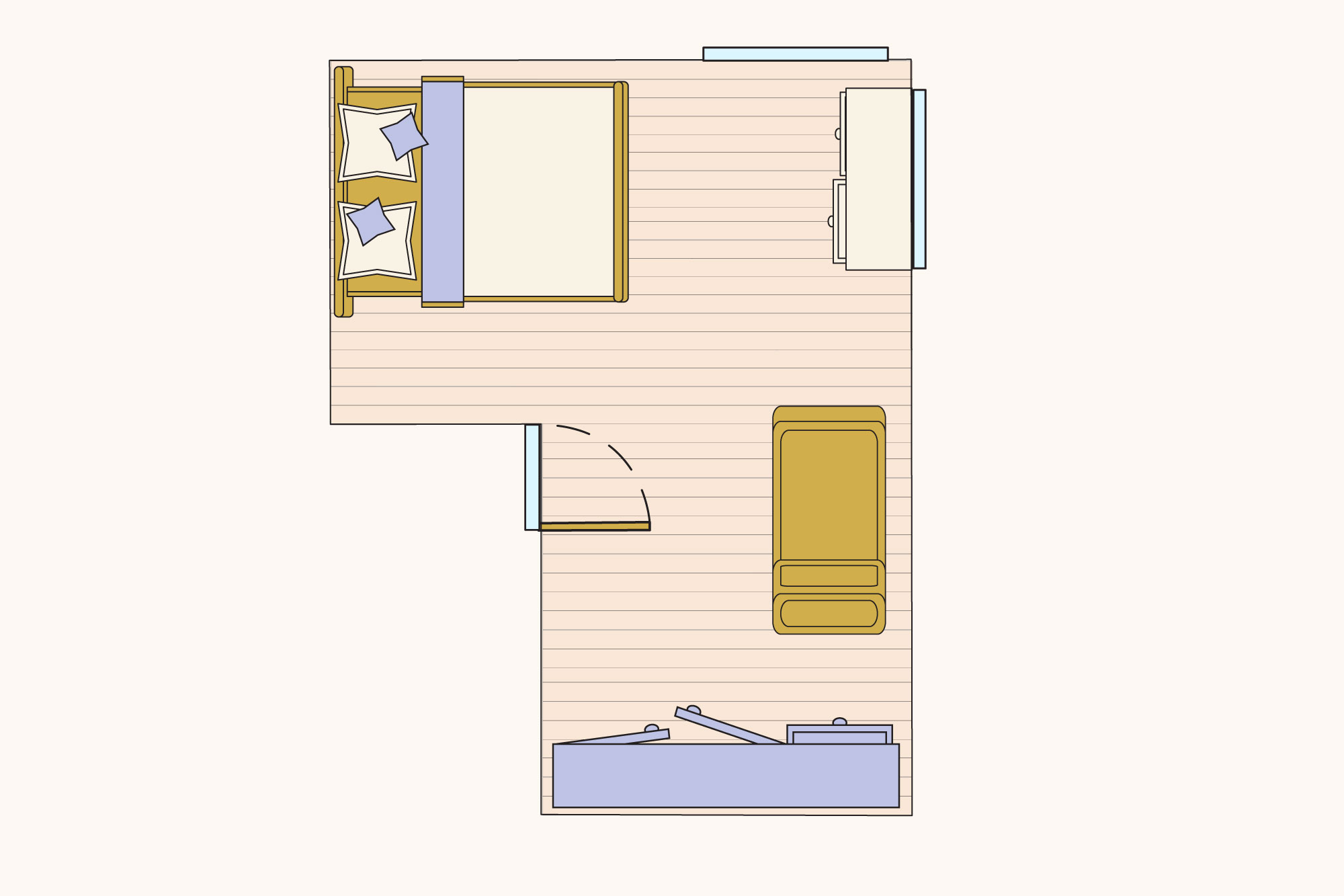 Best Bedroom Layouts If You Have A Queen Sized Bed Apartment Therapy
