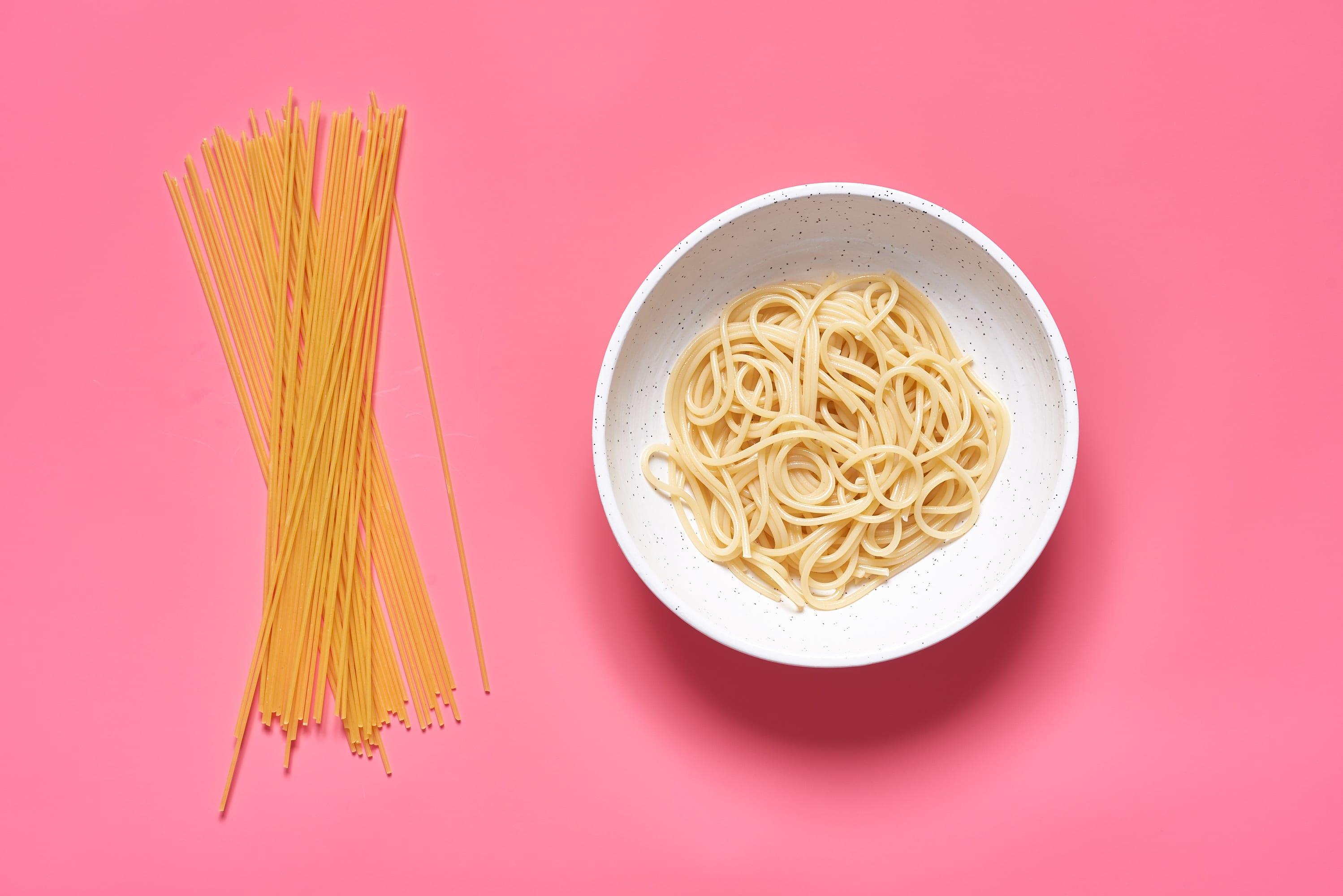 amount of spaghetti per person