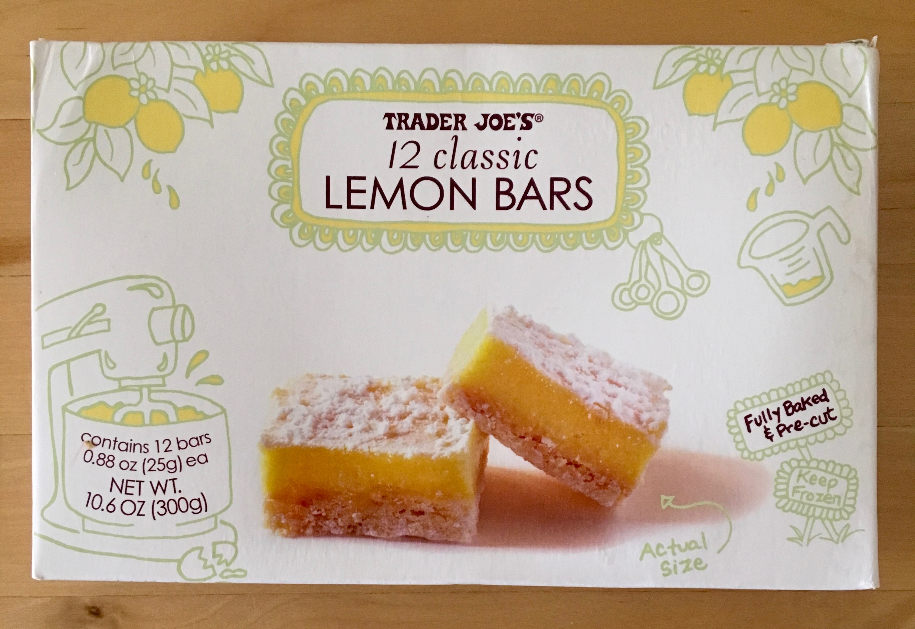 Image result for trader joes soup lemon bars