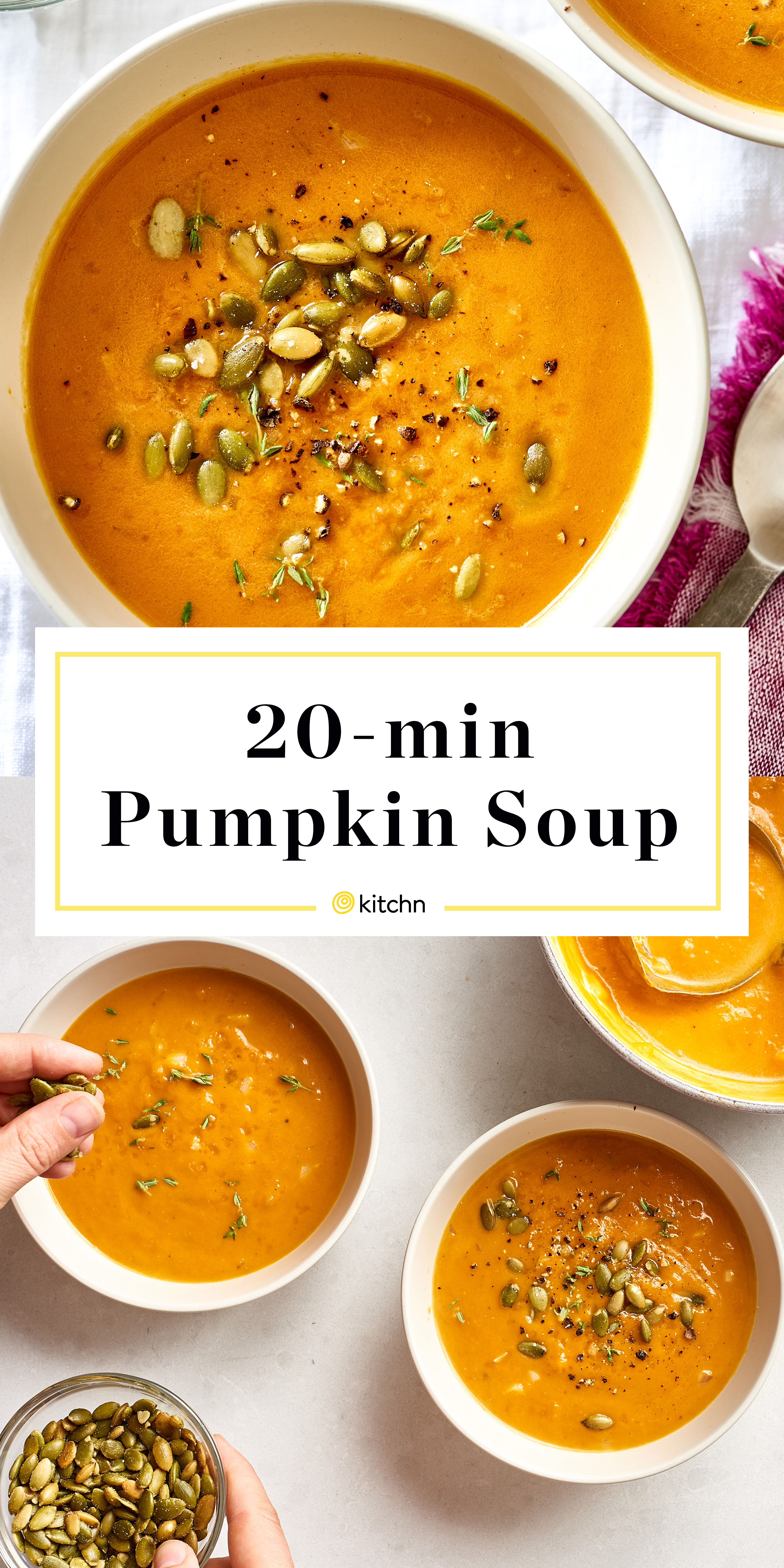 How To Make Pumpkin Soup In 20 Minutes Kitchn