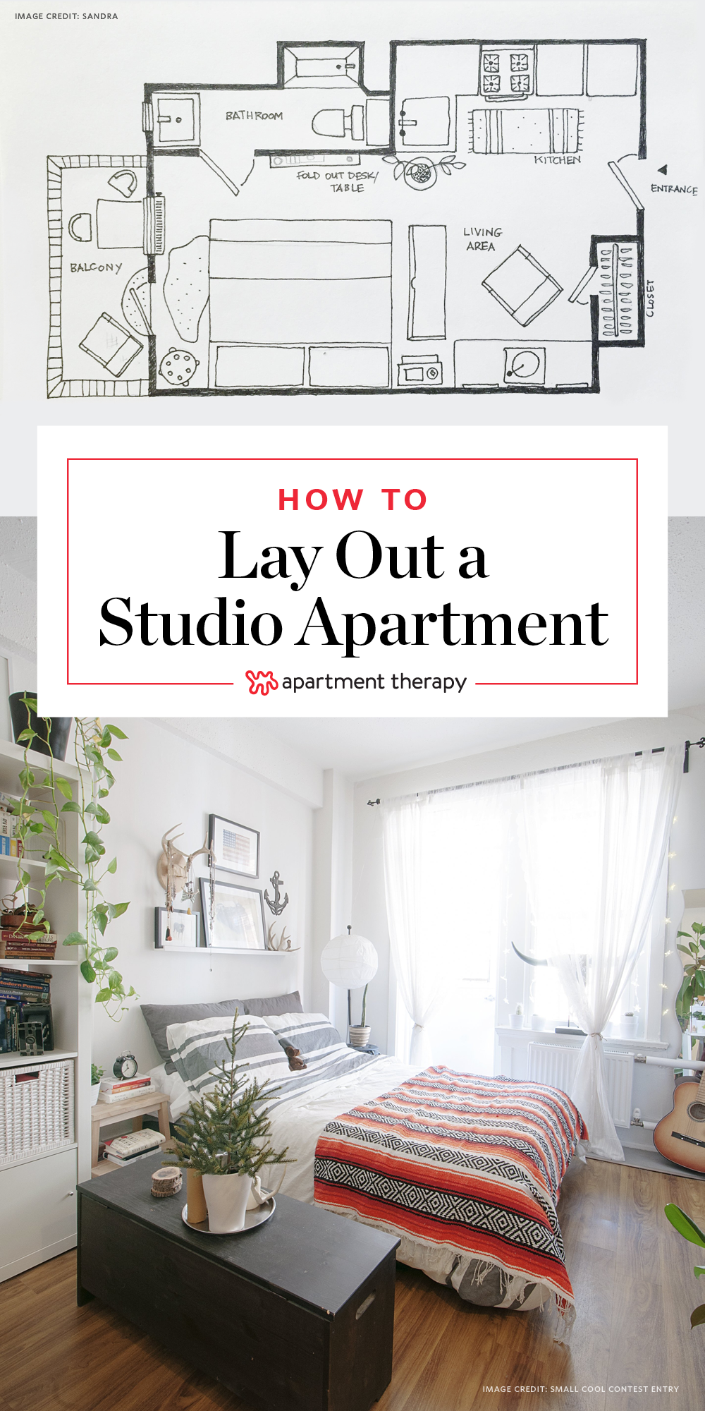 19 Ways to Lay Out a Studio Apartment  Apartment Therapy