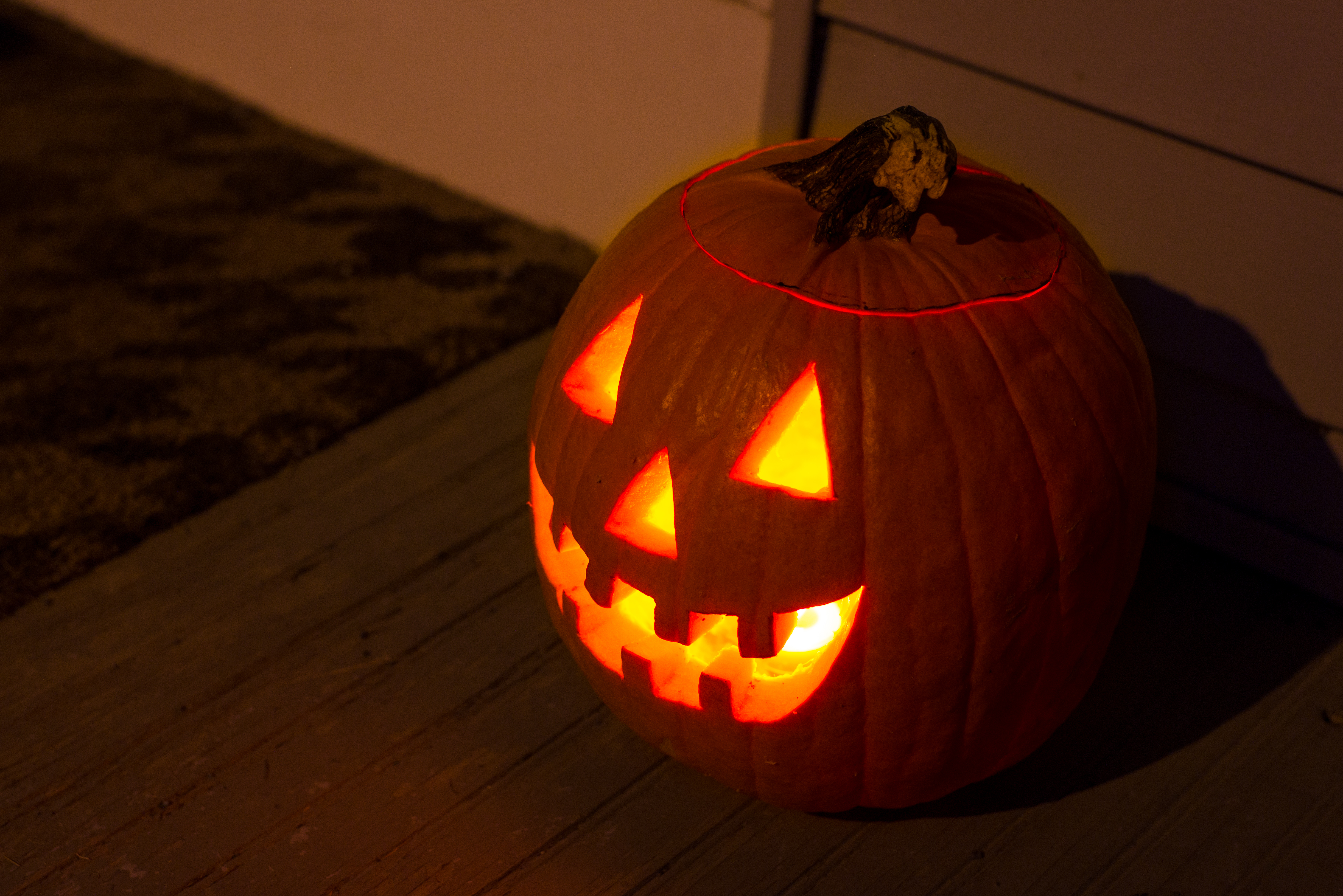 Easiest Way To Carve A Pumpkin For Halloween Kitchn