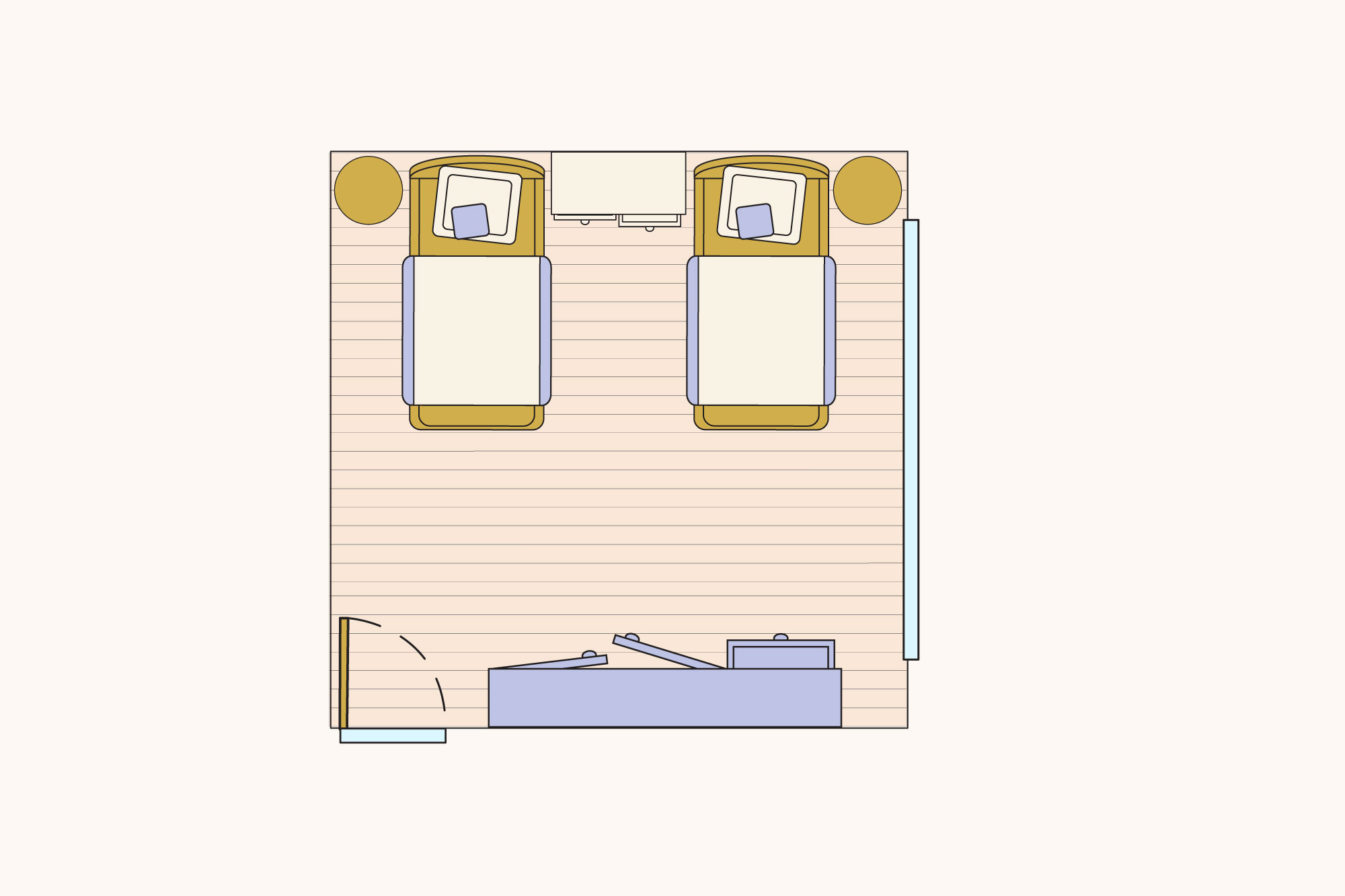 Ideas For Laying Out Two Twin Beds In A Bedroom Apartment Therapy