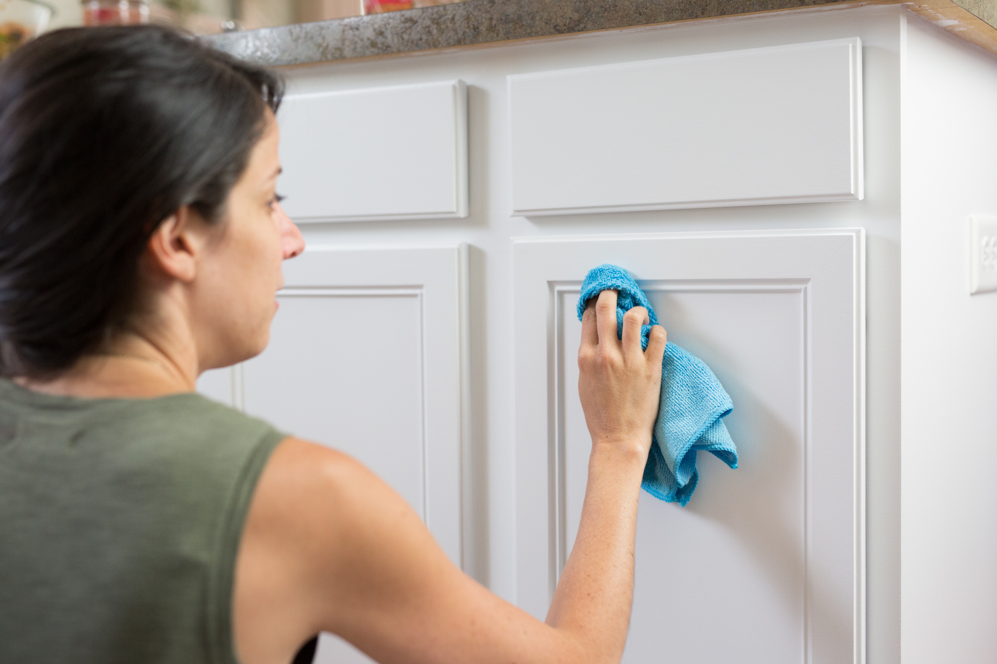 How To Clean Painted Kitchen Cabinets How To Clean Painted Wood Cabinets | Kitchn