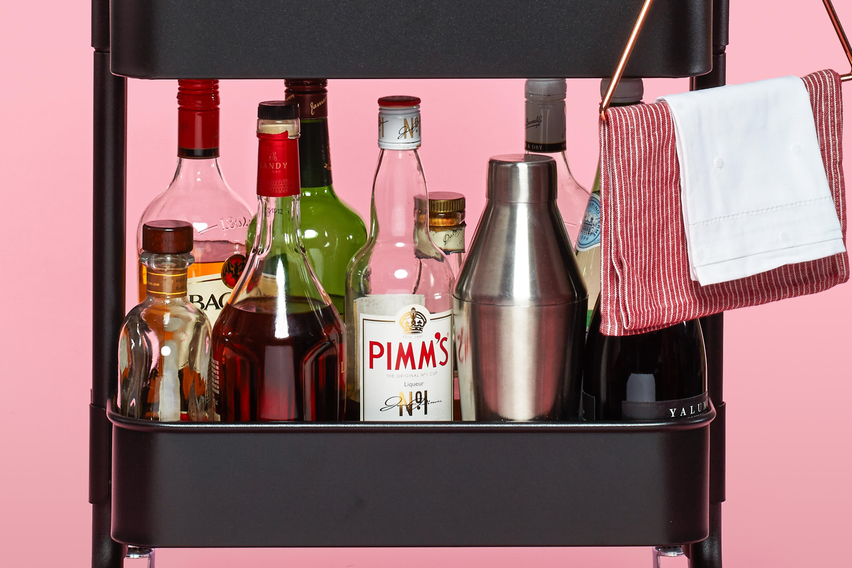 The Ikea Raskog Cart As Home Bar Kitchn