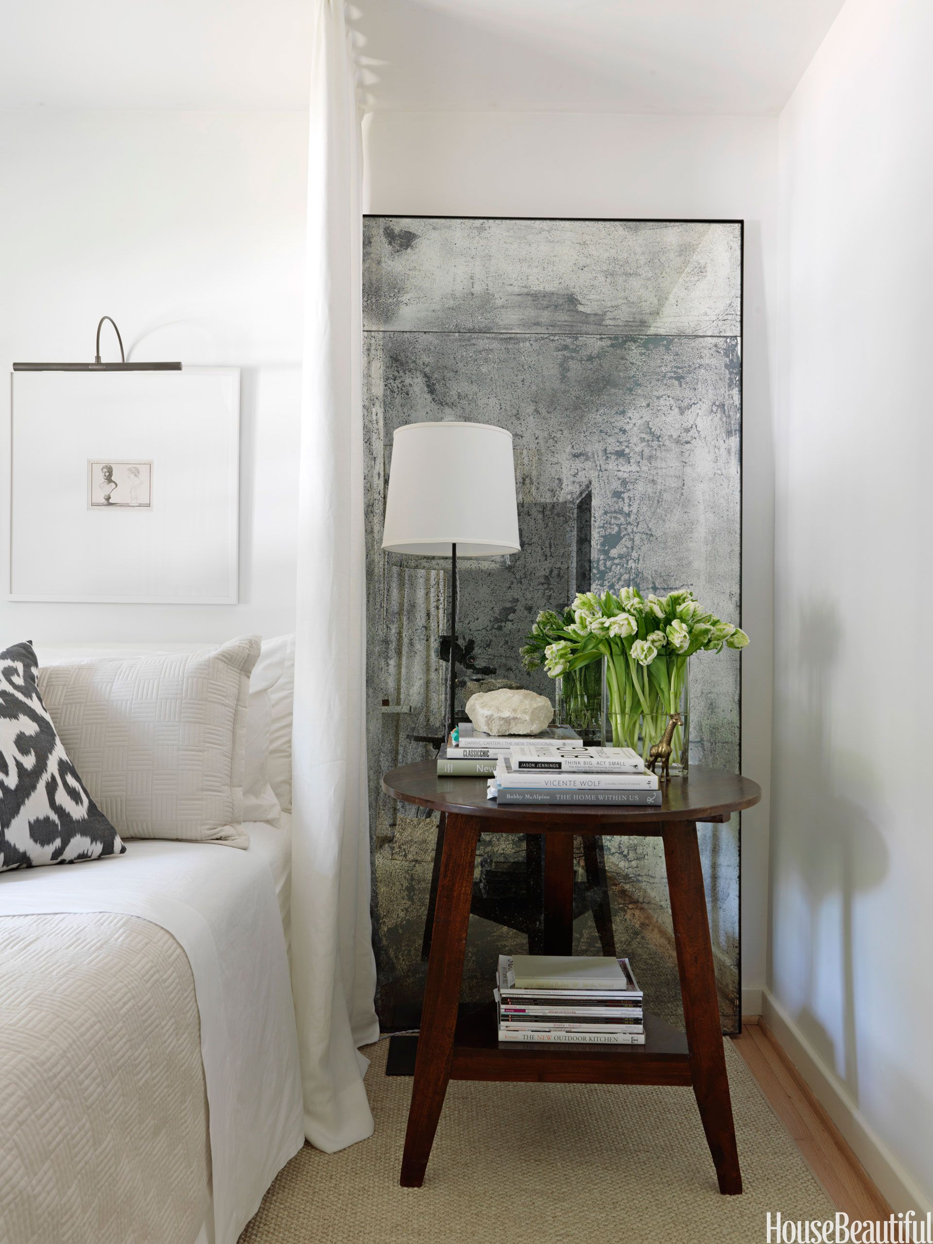 How To Brighten A Dark Room Lamp In Front Of Mirror Apartment Therapy