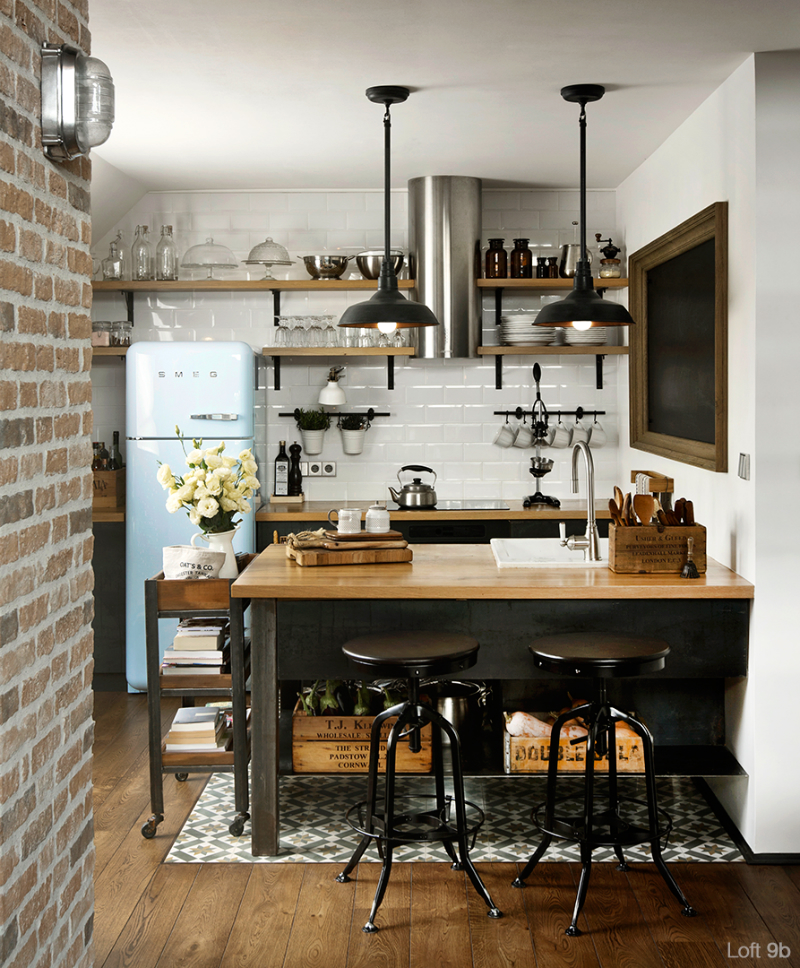 Discover Your Home S Decor Personality Warm Industrial Inspirations Apartment Therapy