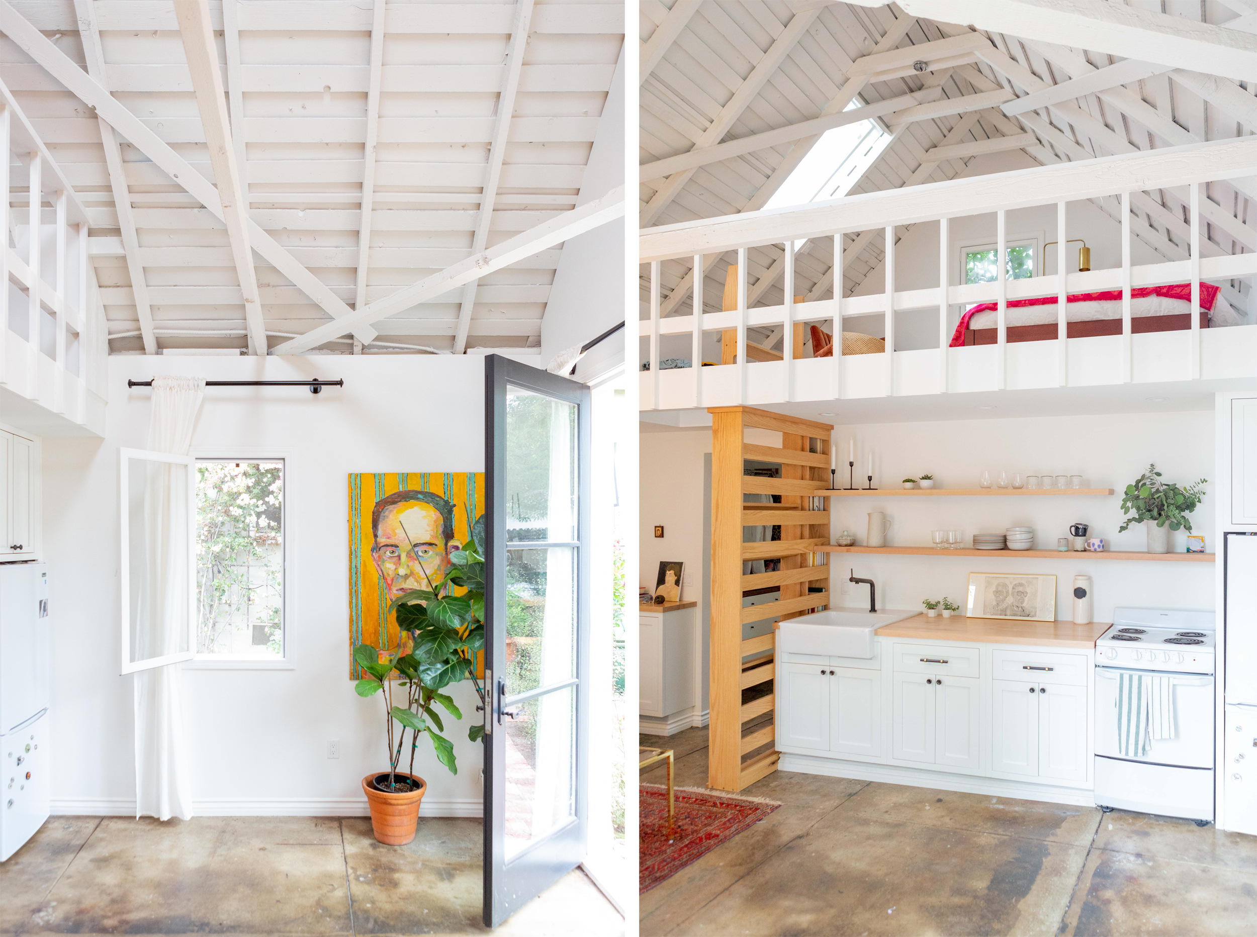 A 400-Square-Foot Total Redesign of a Former Dilapidated Detached Garage