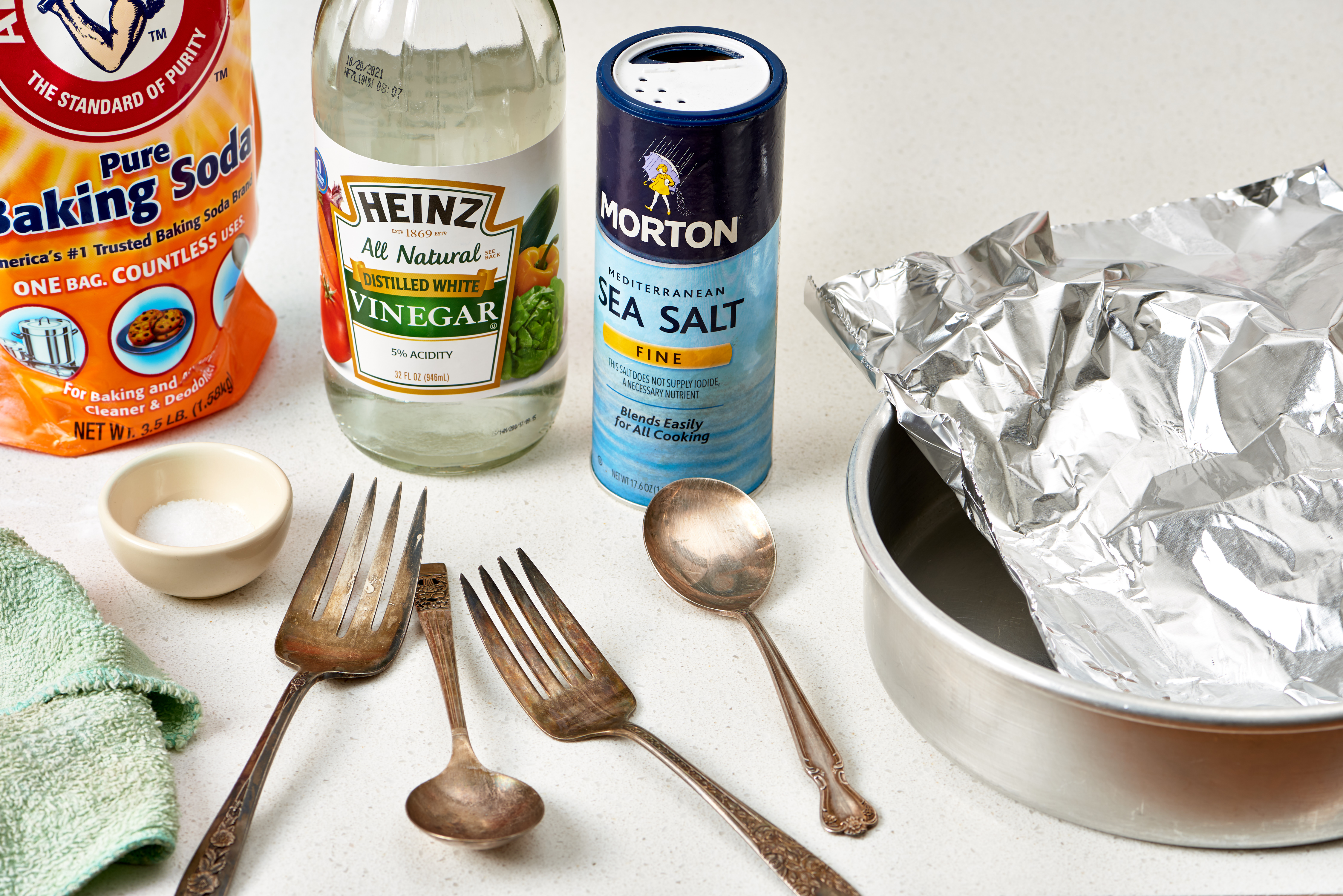 The Best Way To Clean Polish Silver Baking Soda And Aluminum
