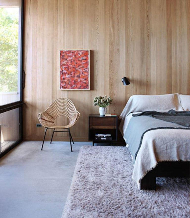 Vertical Wood Paneling Modern Shiplap Alternative Apartment Therapy