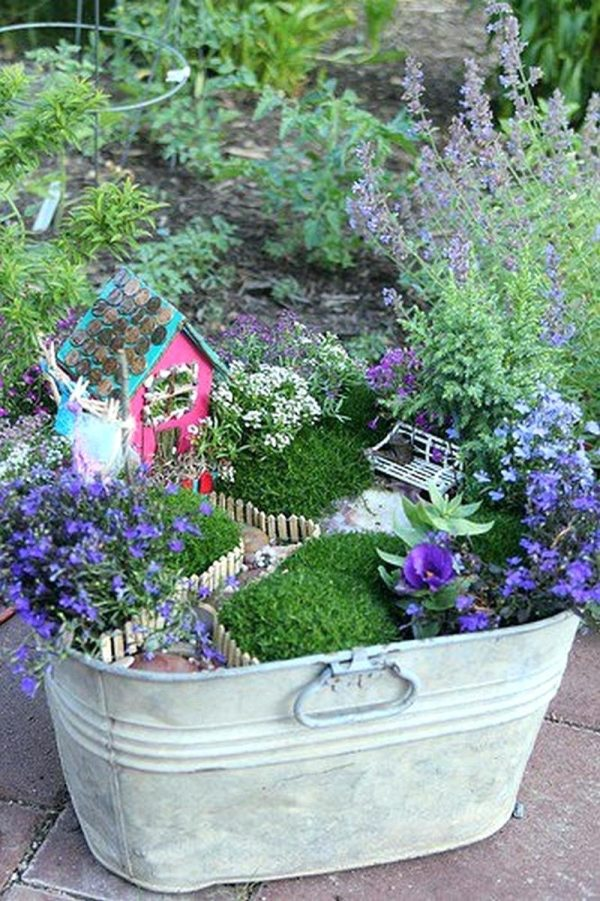 Fairy Garden Ideas Supplies Kits Containers Apartment Therapy
