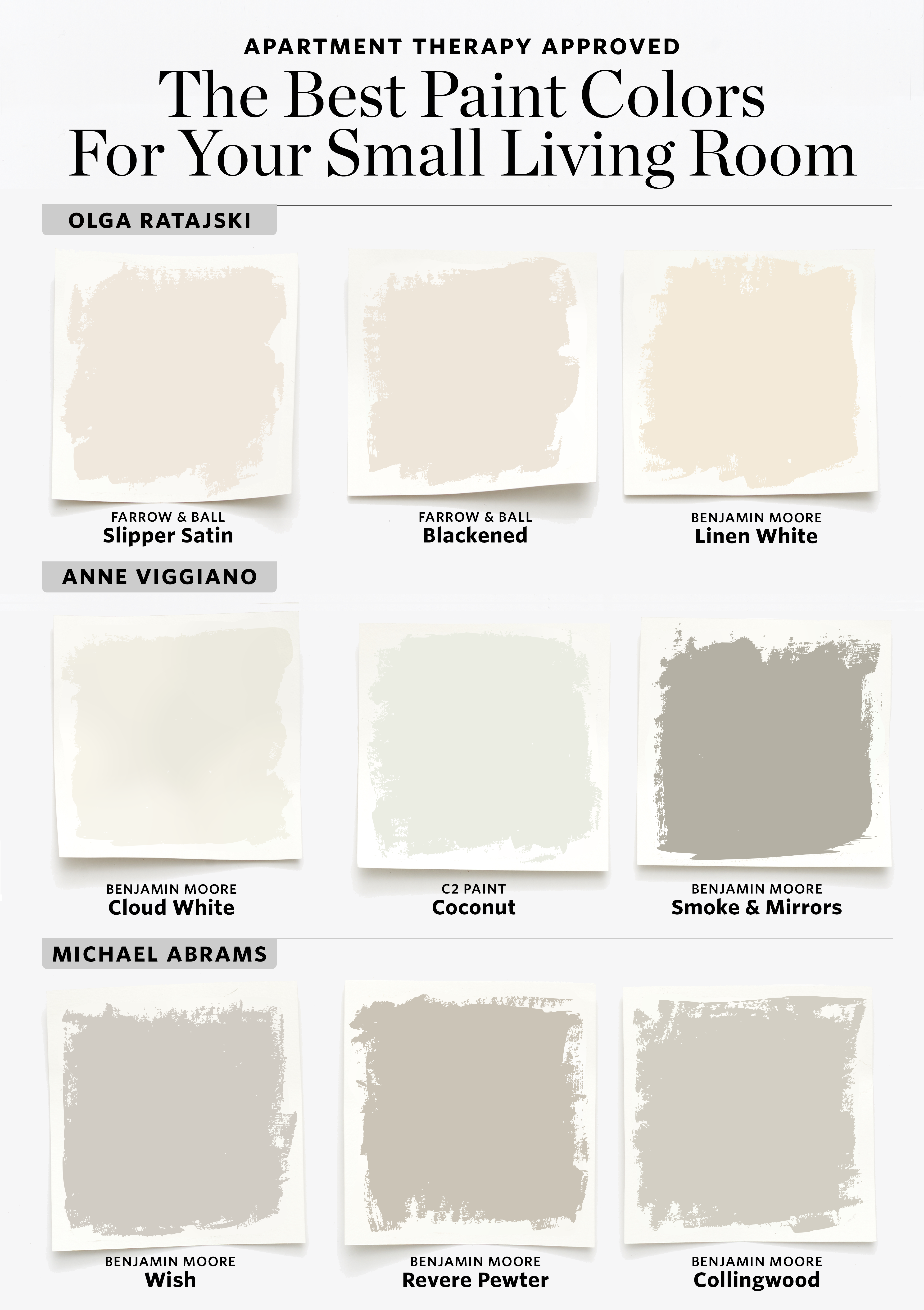 Best Paint Colors For Small Living Rooms Apartment Therapy