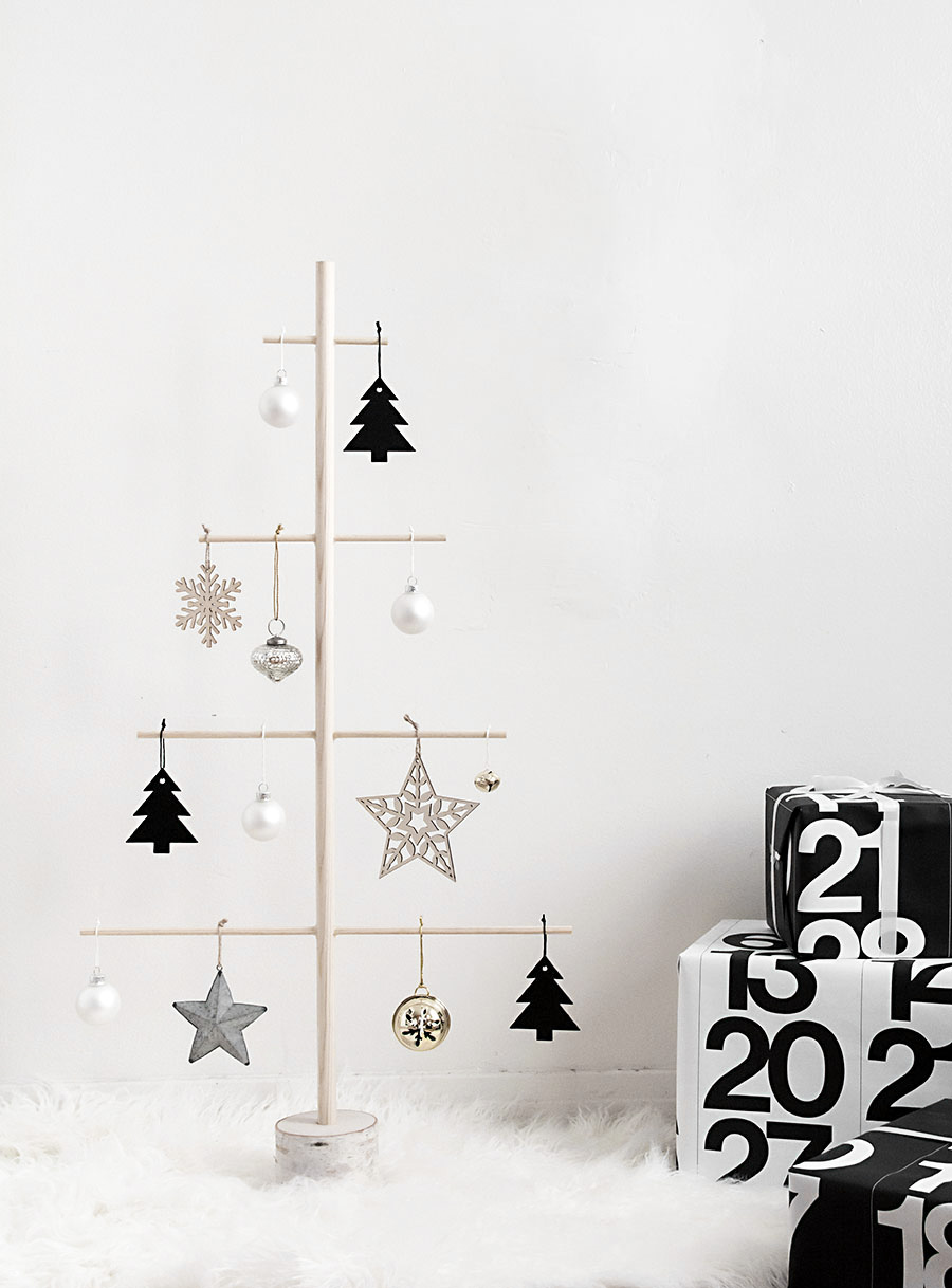 Diy Christmas Trees For Small Spaces Apartment Therapy