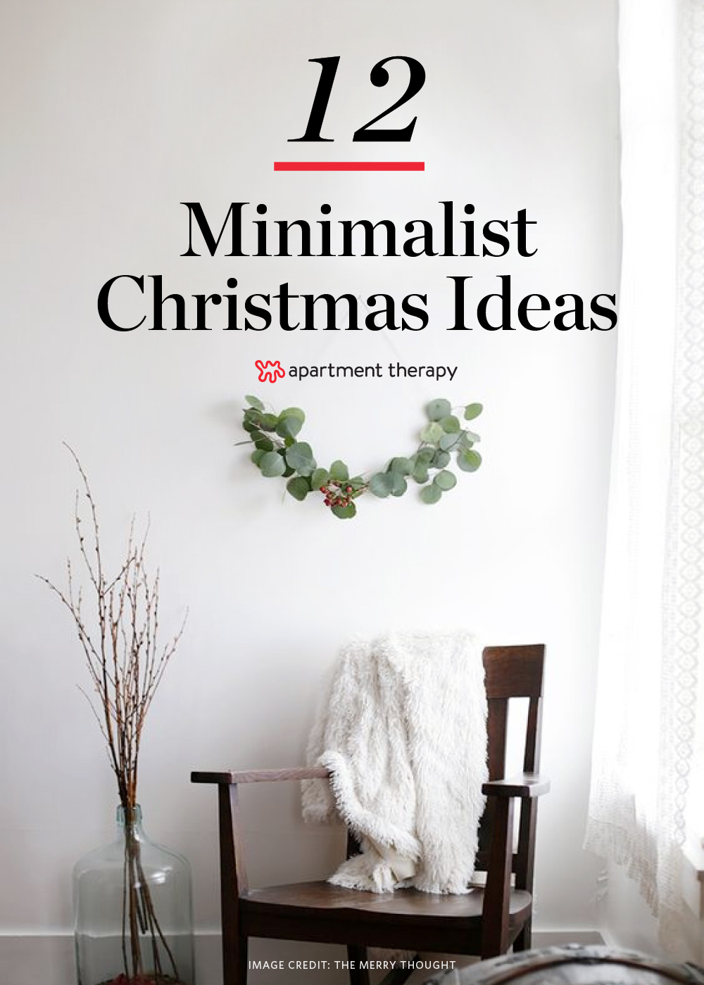 christmas decorations apartment therapy