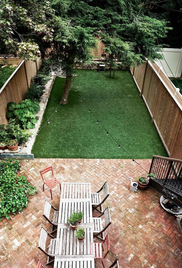 Landscape Inspiration A Dozen Lush Lovely Townhouse Backyards