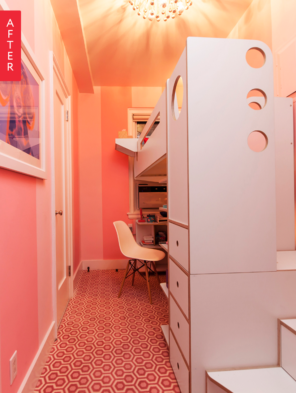Before After A Small Narrow Bedroom Gets Everything It Needs Apartment Therapy