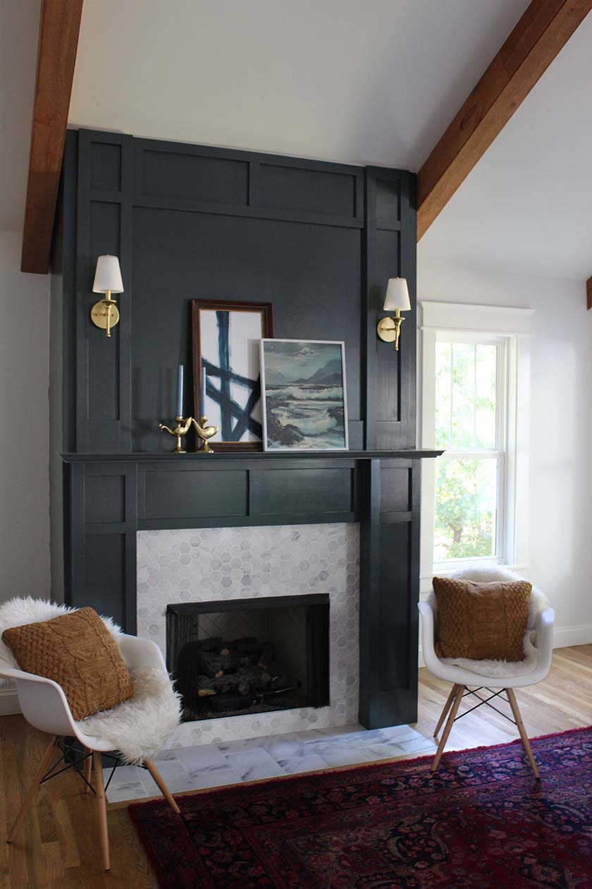 DIY Fake Fireplace Facades + Faux Mantel Makeovers   Apartment Therapy