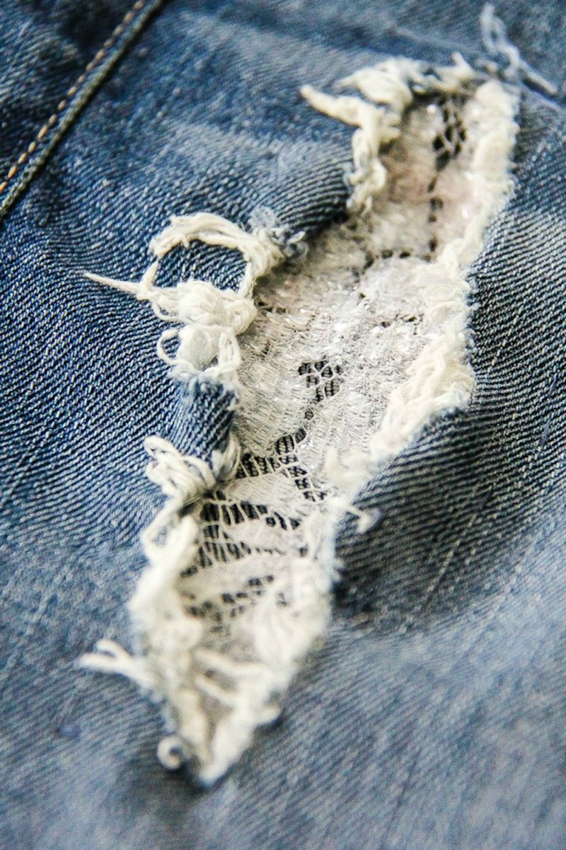 Denim Repair How To Patch Jeans With Holes Apartment Therapy