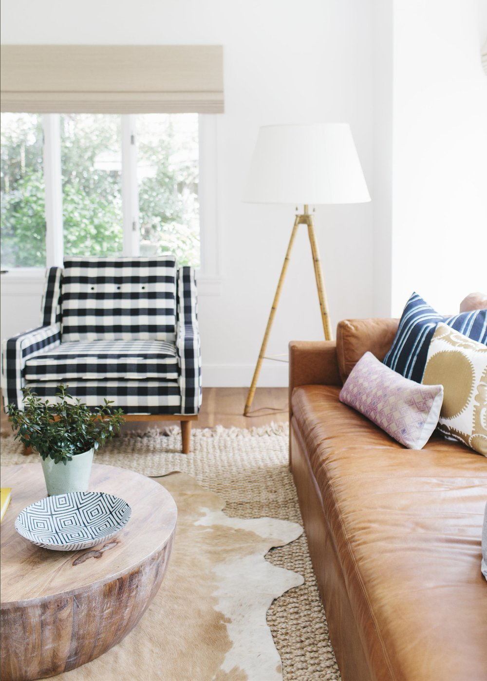 Secrets For Making Plaid Look Modern All Year Round Apartment Therapy