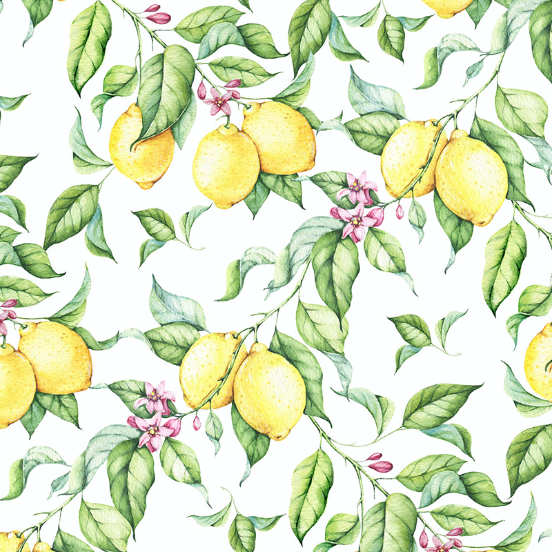 Gorgeous Rooms With Lemon Wallpaper Where To Buy It Apartment